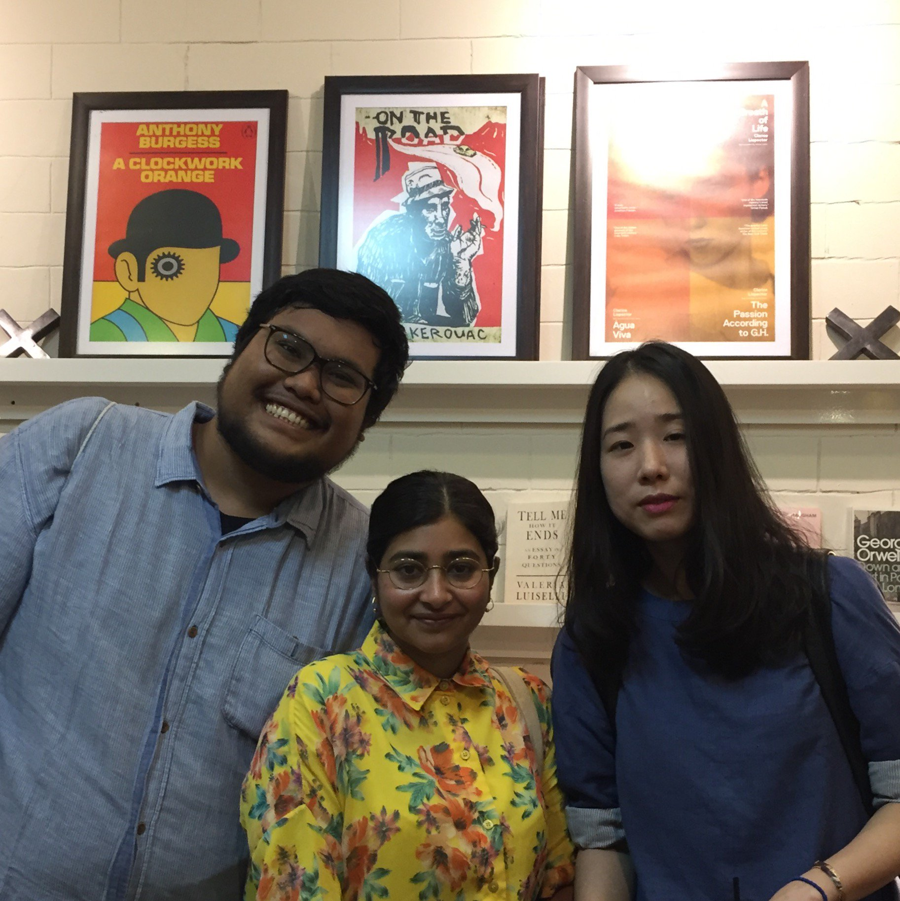 - Day 6: Our last day here (sob!)– we blow the last of our rupiah at POST (a bookshop that doubles as a micro-press) at Pasar Santa, publisher of Mikael Johani's poetry collection We Are Nowhere And It's Wow. Time for one last bear hug with heart-breaking poet Norman Erikson Pasaribu whose verses will break you into pieces, then gently re-assemble you. And a chance to meet our own Han Yujoo, queen of cool and experimental dream-like prose, who is visiting Jakarta as part of the WrICE programme.