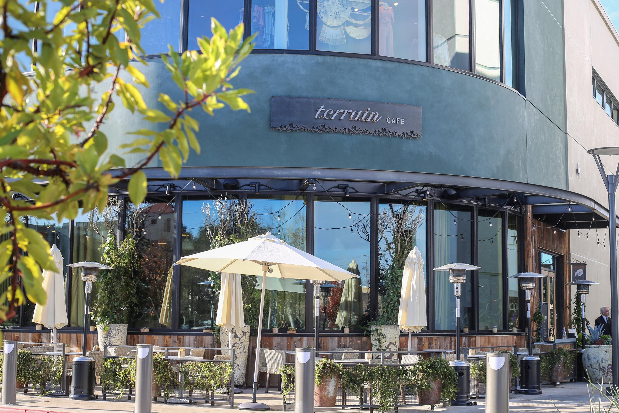 CLICK TO READ ABOUT TERRAIN GARDEN CAFE in PALO ALTO, CA.