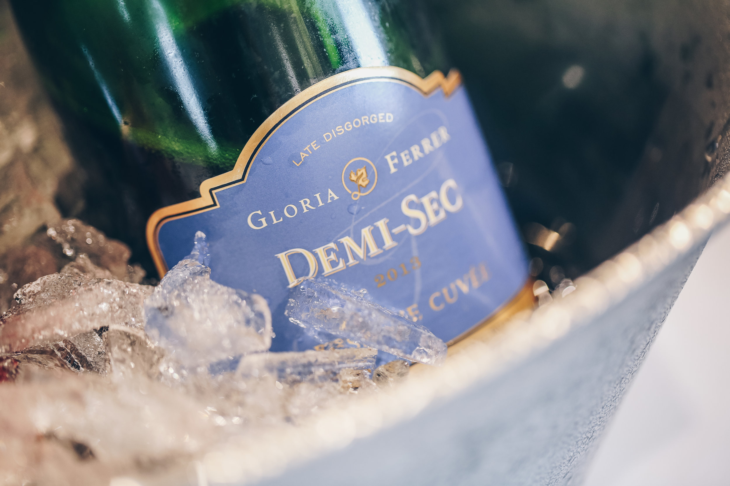 2013 Demi-Sec - A semi-sweet sparkling wine that will leave you wanting a second bottle (we couldn't leave with out one for our collection). The Demi-Sec can be perfectly paired with a range of hearty foods from sweet to spicy.  *Alec's top choice*