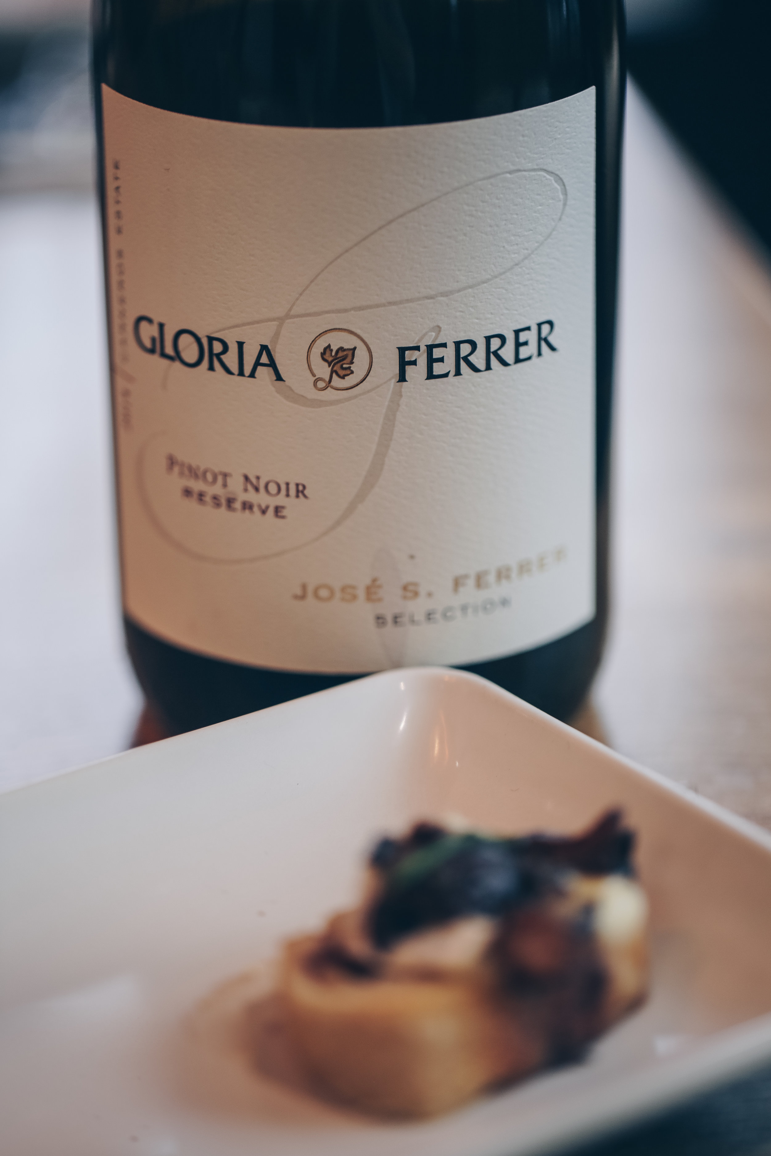 2014 Jose Ferrer Pinot Noir Reserve - A wine club exclusive, this limited production estate red wine delivers silky and spicy notes of cherry. Perfect pairing to a hearty meal.