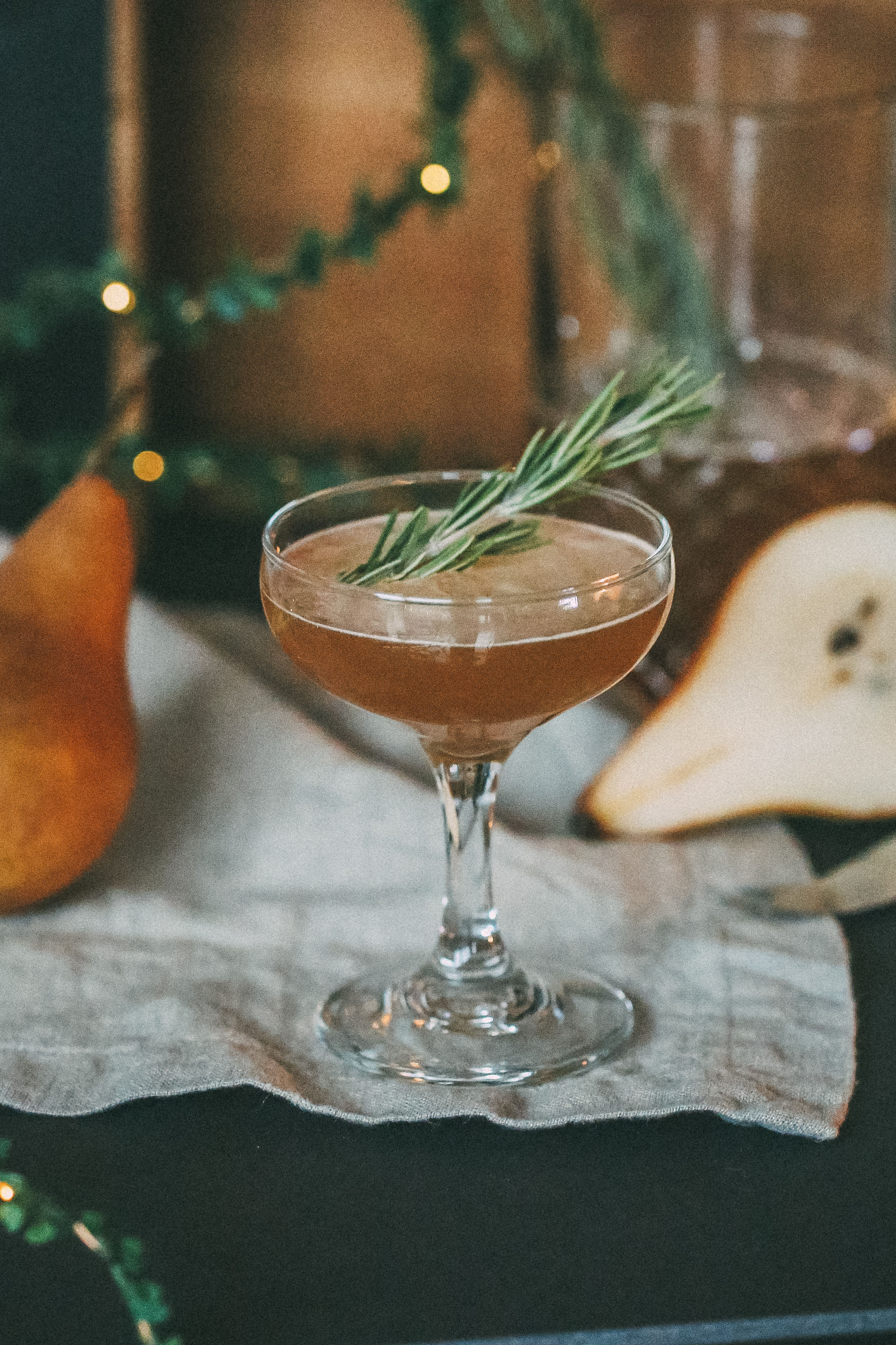 THE PEAR TREE - WHISKEY COCKTAIL