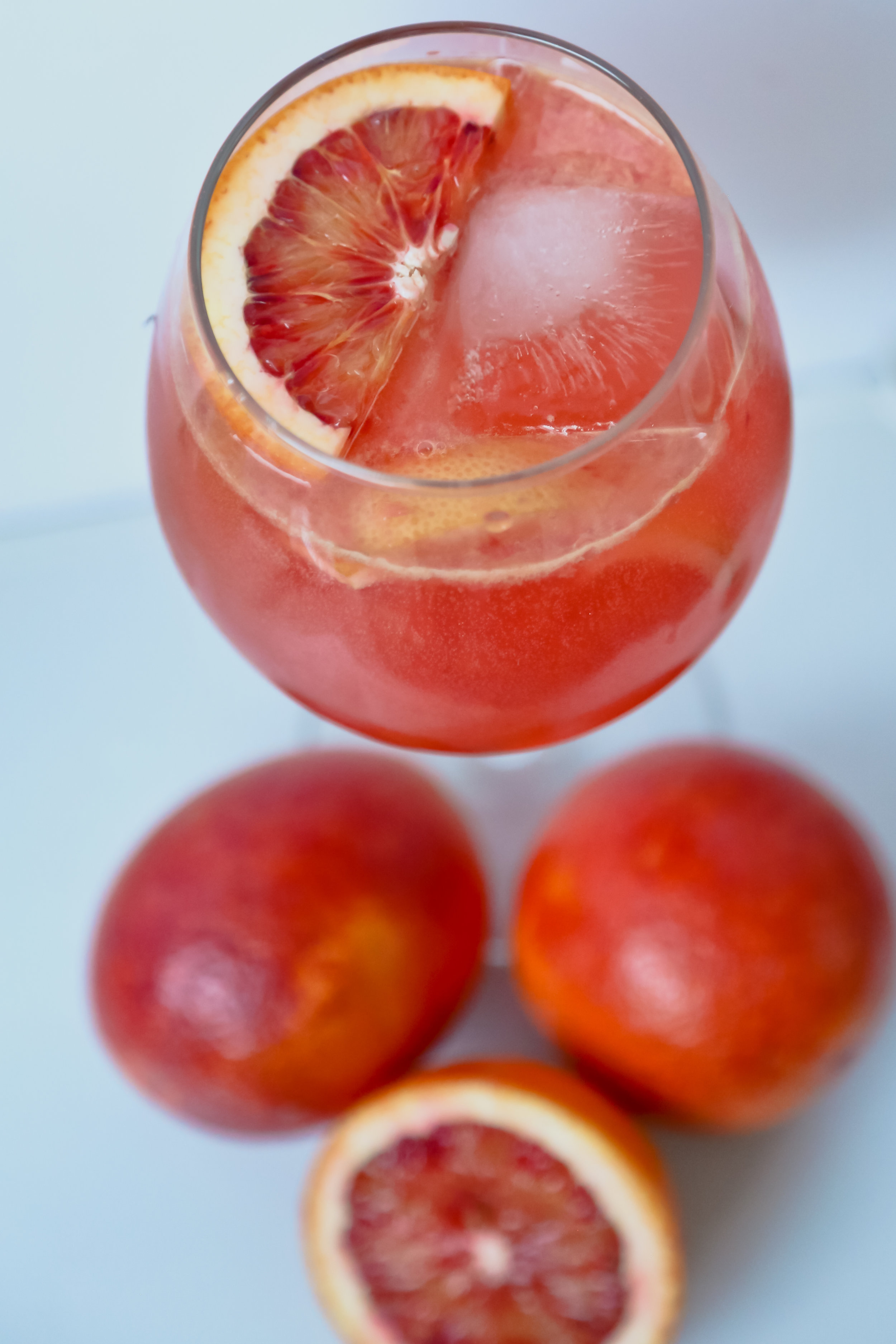 THE BLUSHING ORANGE - Vodka Cocktail
