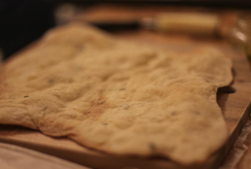 classic crispy flatbread