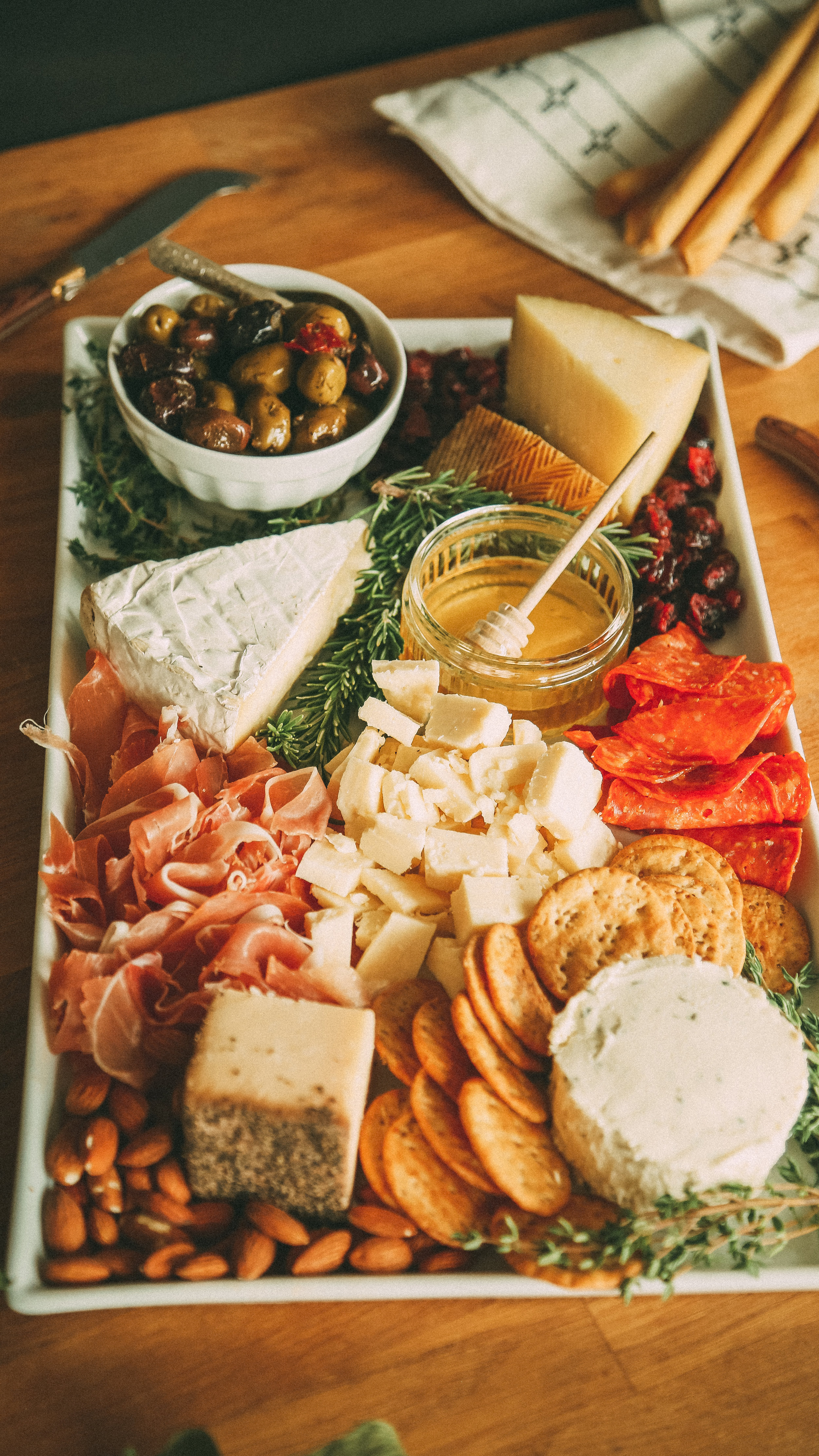 WINTER CHARCUTERIE BOARD -