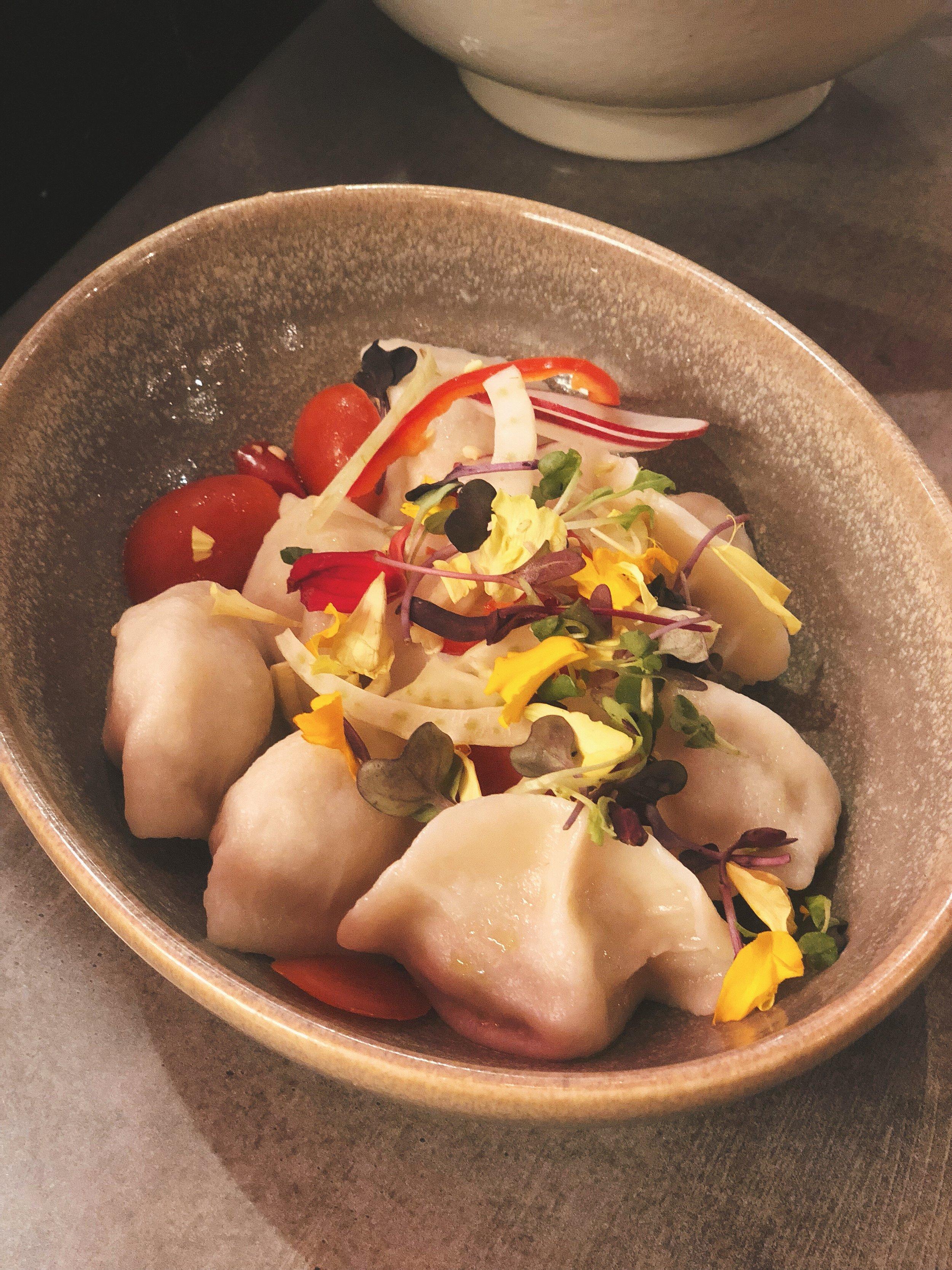 Pork or Lamb Xi'an Dumplings