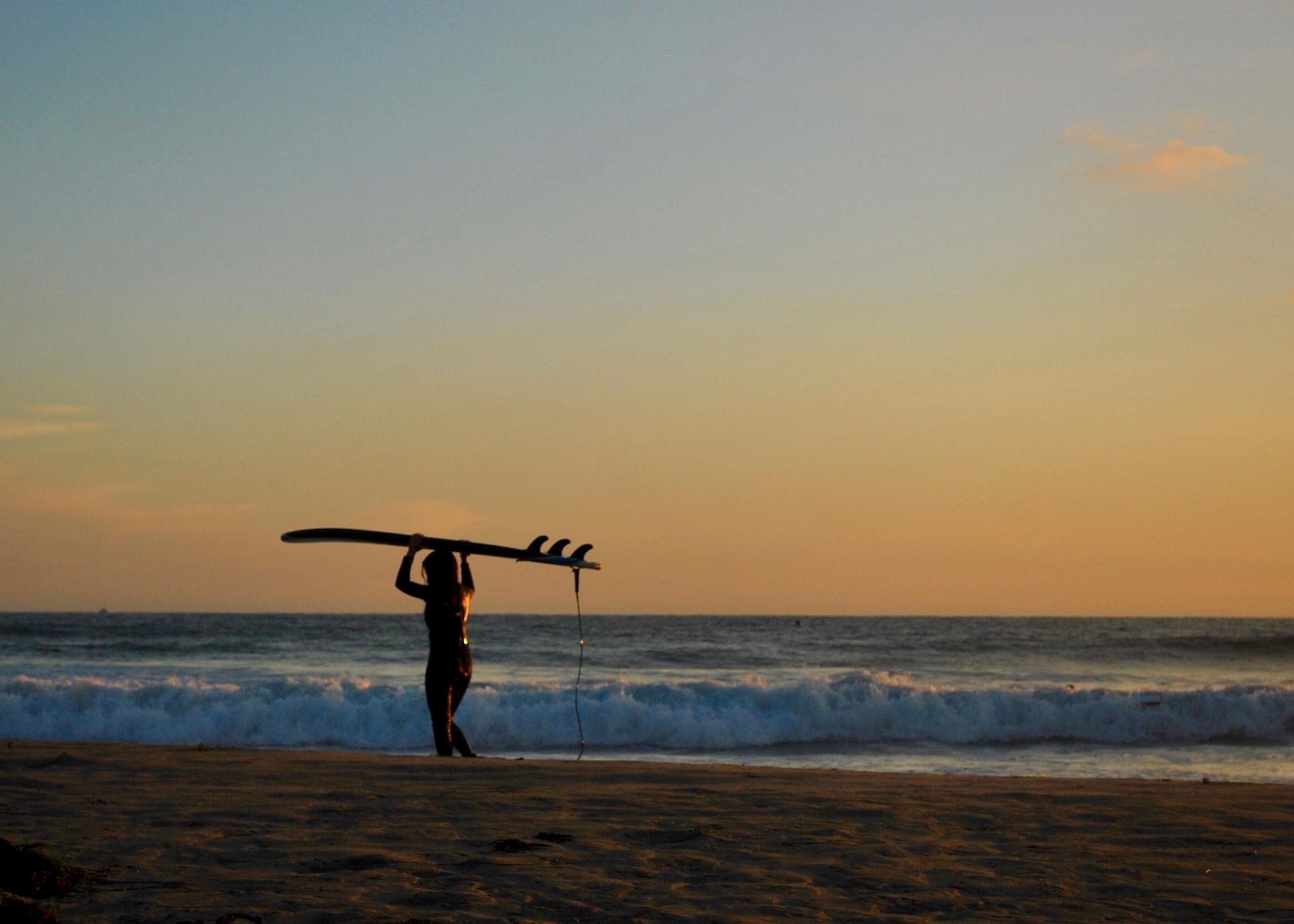 Striking Sunset at Mission Beach, San Diego