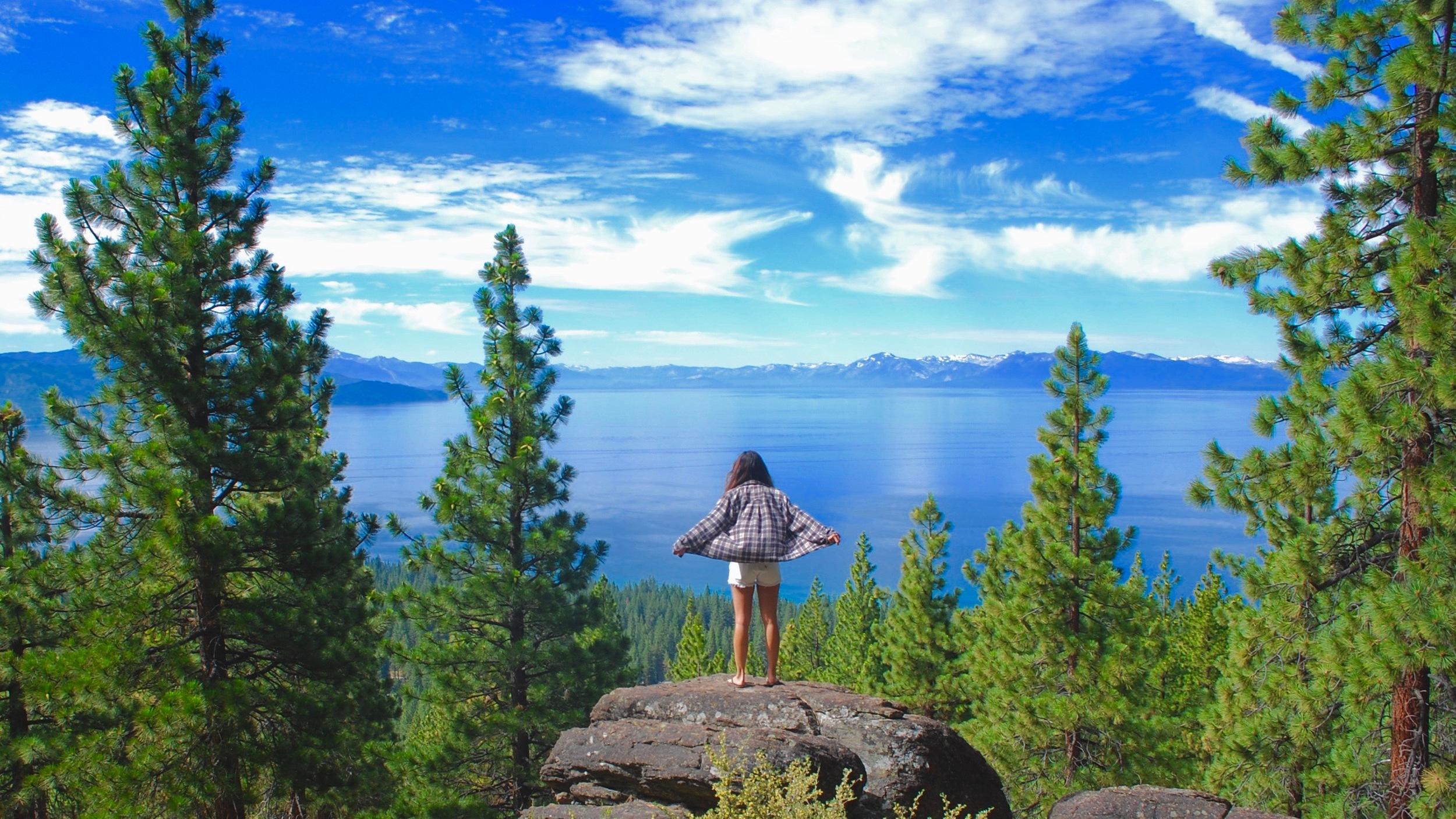 Summer Days in Lake Tahoe, Nevada