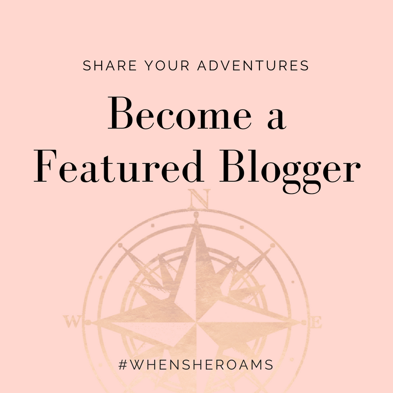 When She Roams Travel Blogger