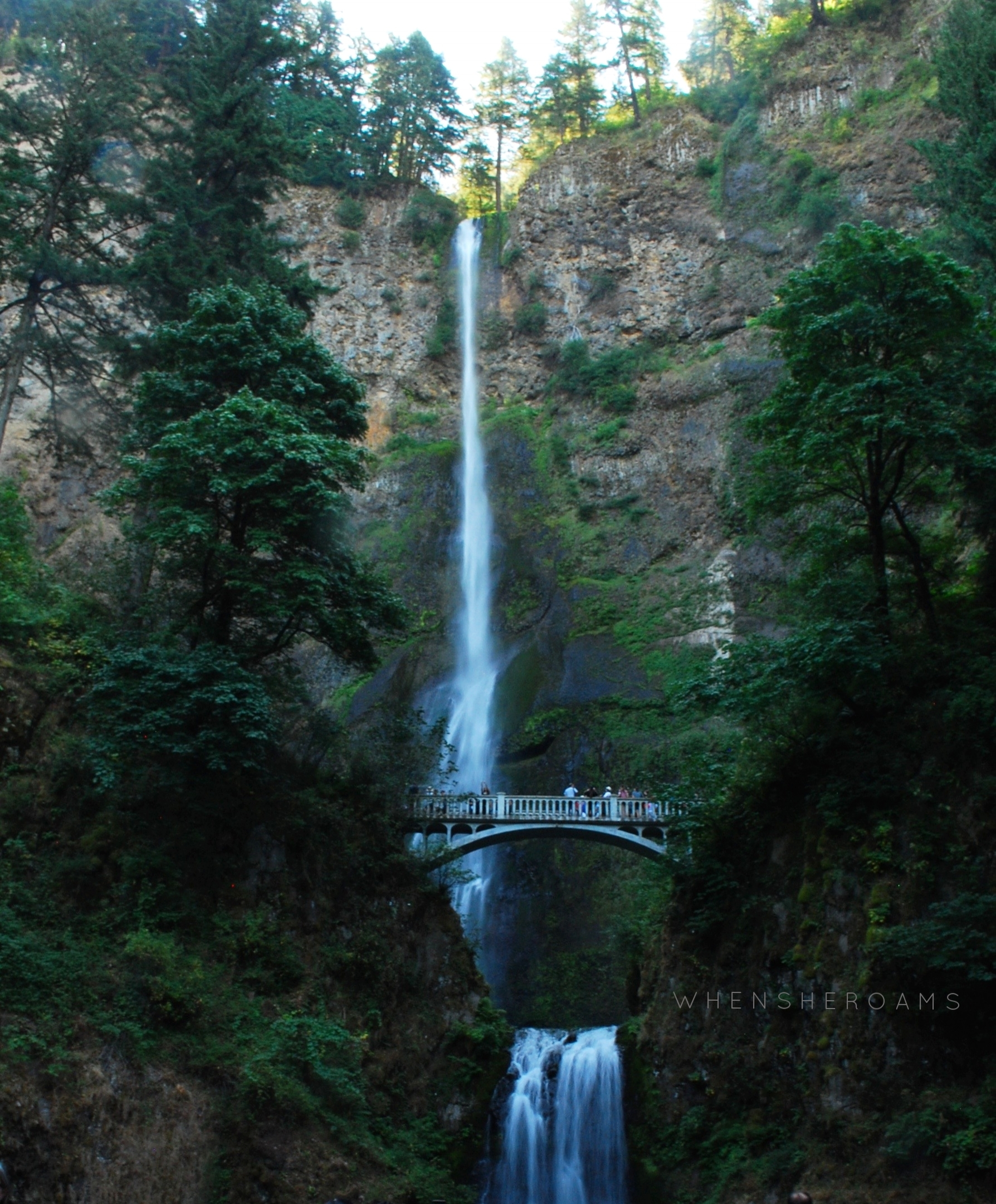 Multnomah Falls, Oregon. 2017