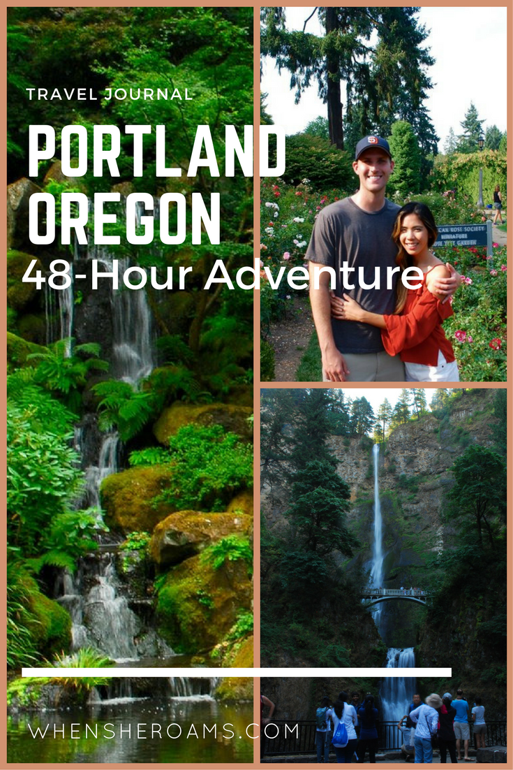 portland oregon 48 hour adventure when she roams