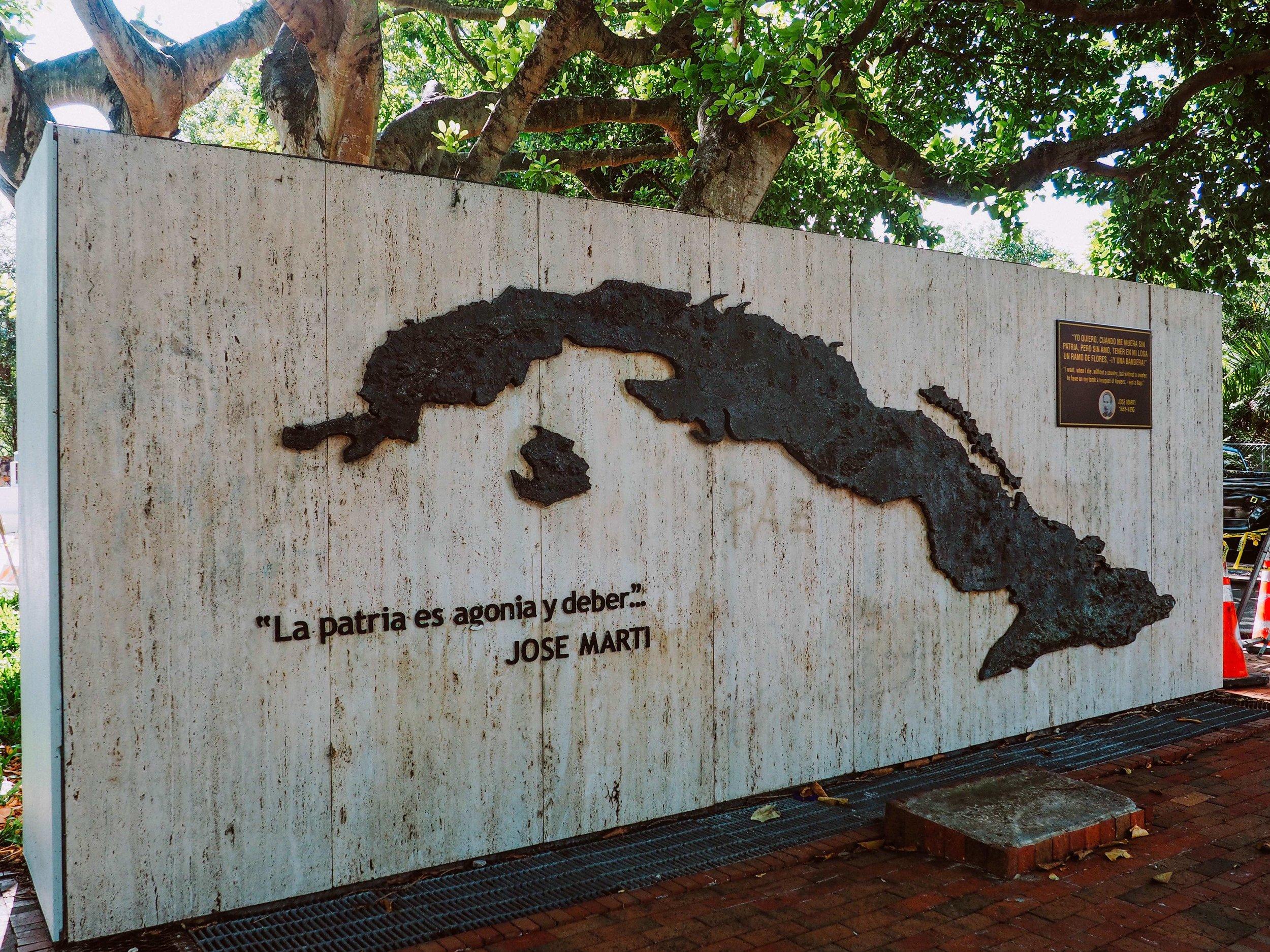 Cuban Memorial Boulevard, Little Havana, Miami, FL.