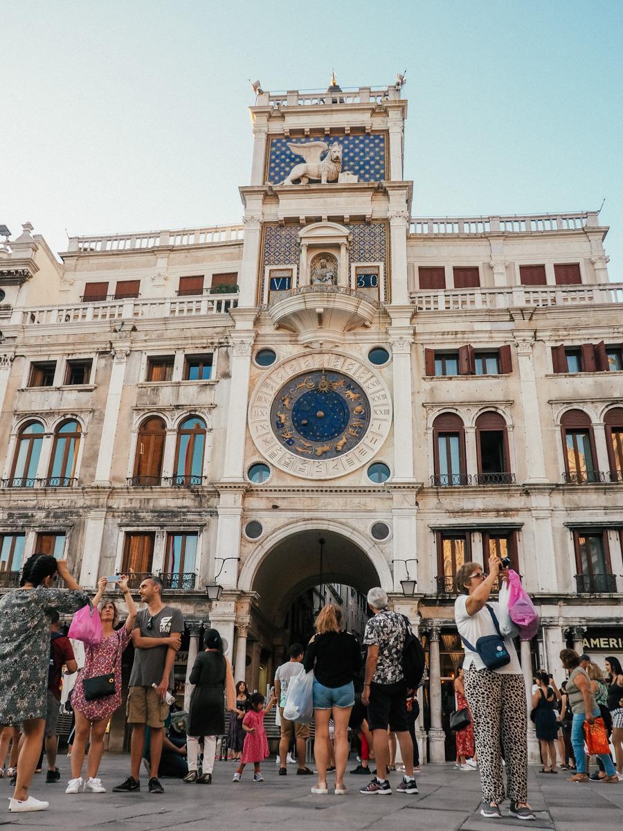 St. Mark's Clock Tower, Venice, Italy, 2018
