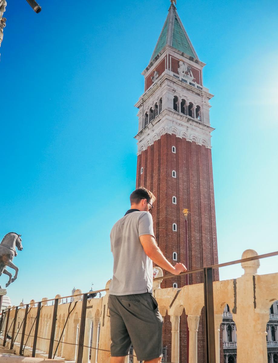 St Mark's Campanile, Venice, Italy, 2018
