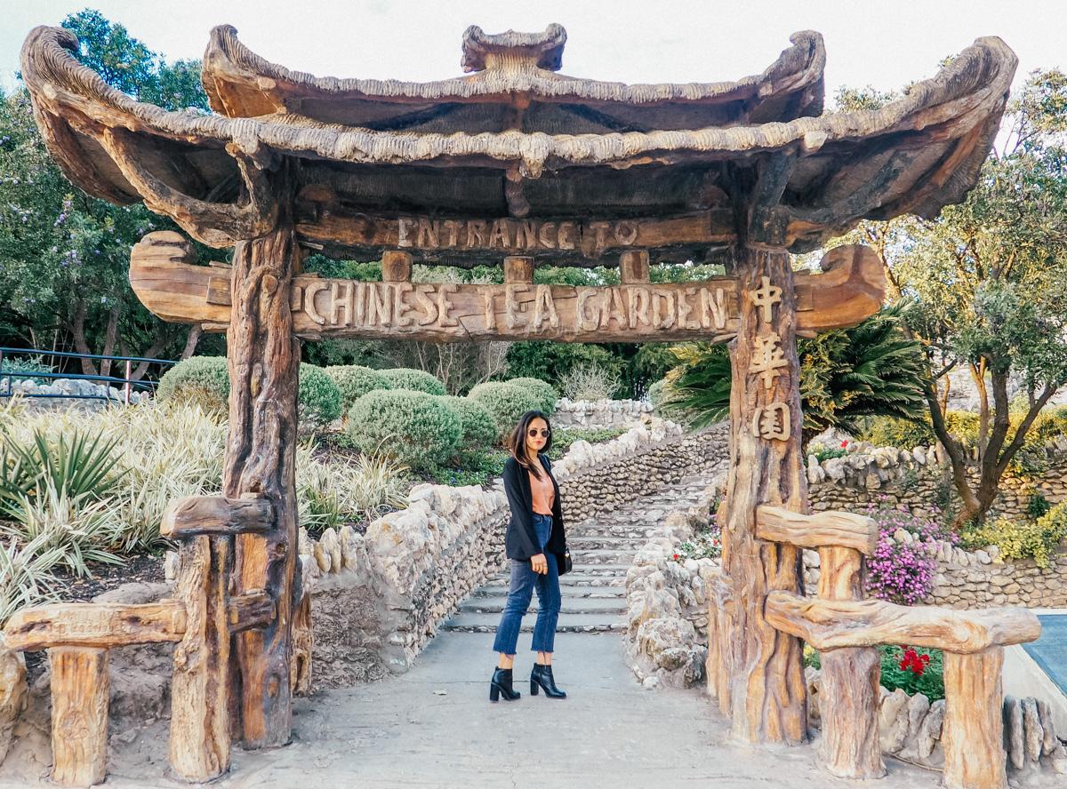 japanese tea garden in san antonio texas