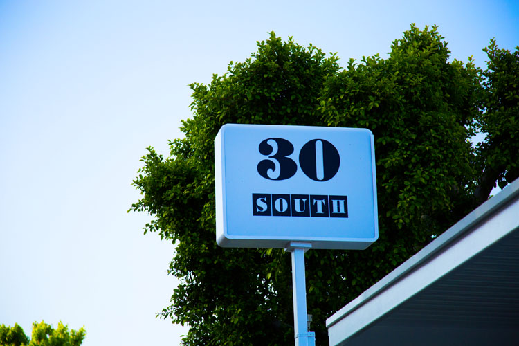 Gallery 30 south - logo design for art gallery in Pasadena, CA