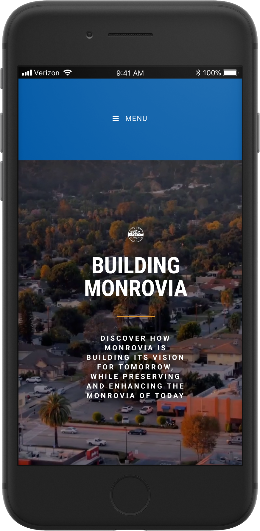 Website Design - collaboration with the City of Monrovia's City Manager's Office to design a website that addresses locals on developments and information surrounding new construction and how it affects the community.