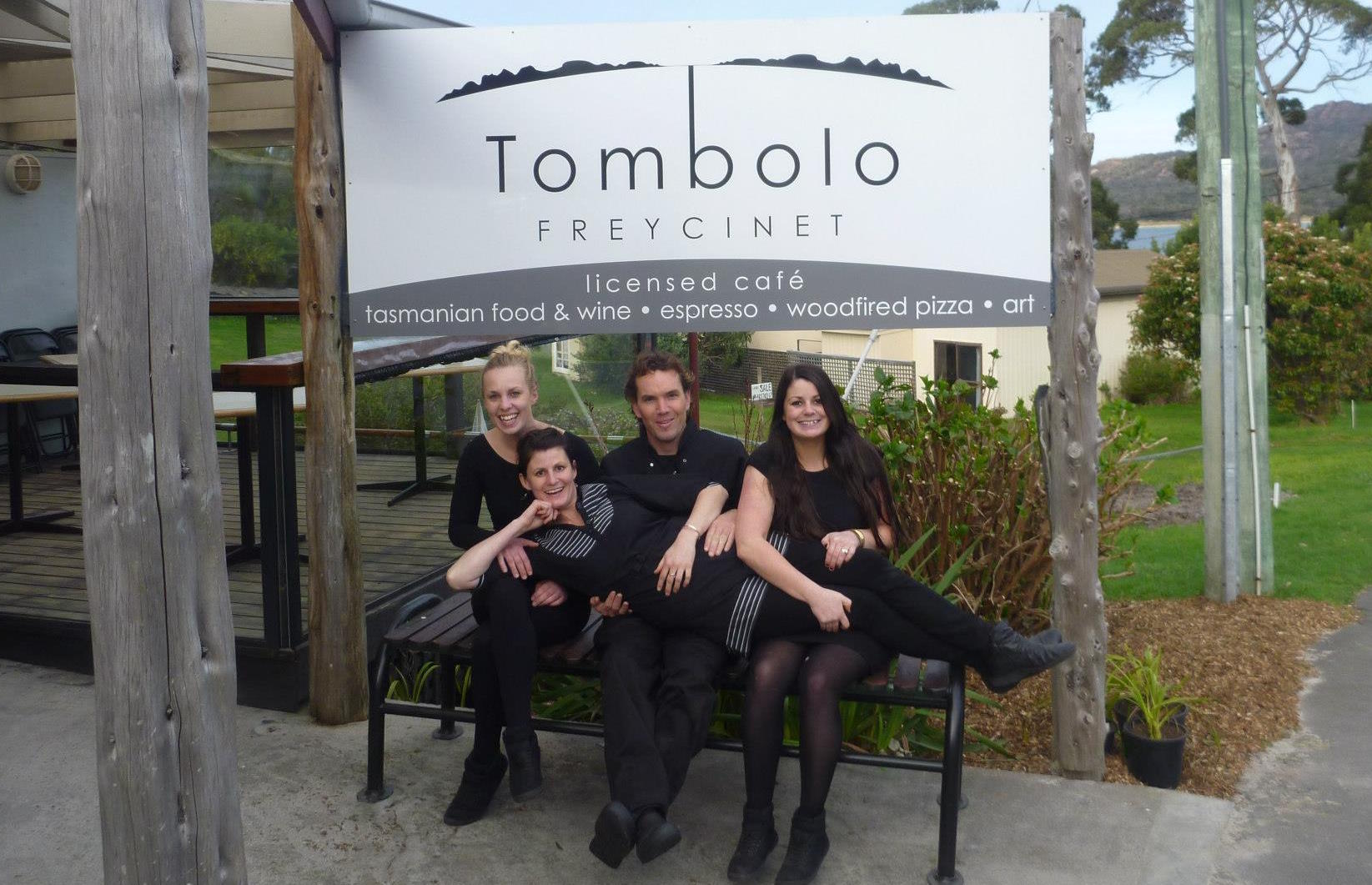 Tombolo Freycinet opening day way back when!