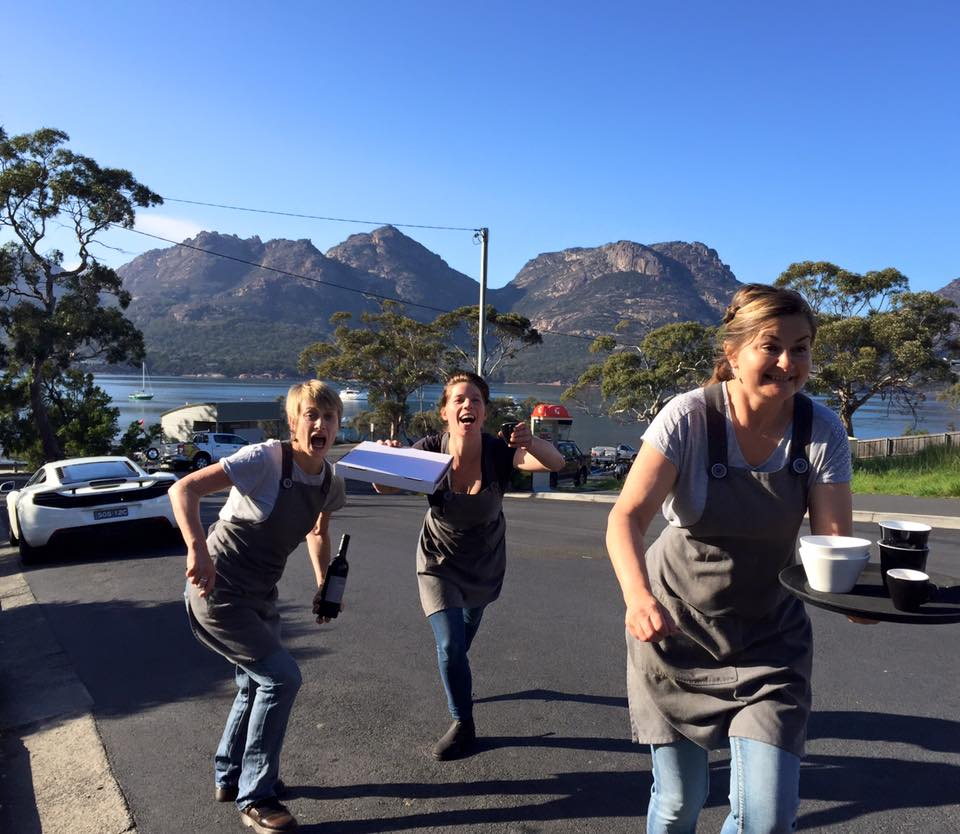 Freycinet Shenanigans! Love these girls :)