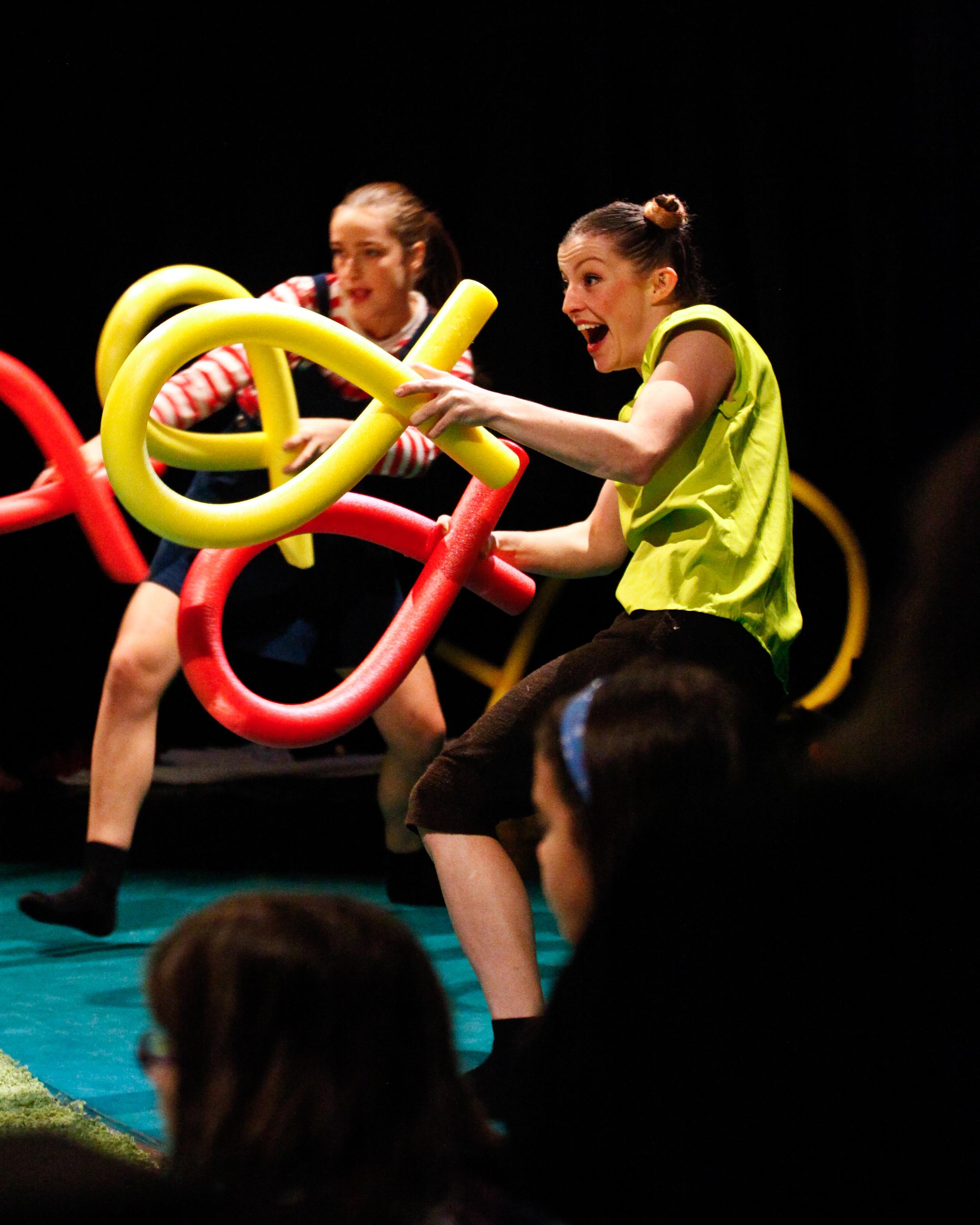 Dancer: Ellen Cobbaert & Laurel Dalley Smith. Photo: Jordan Anderson