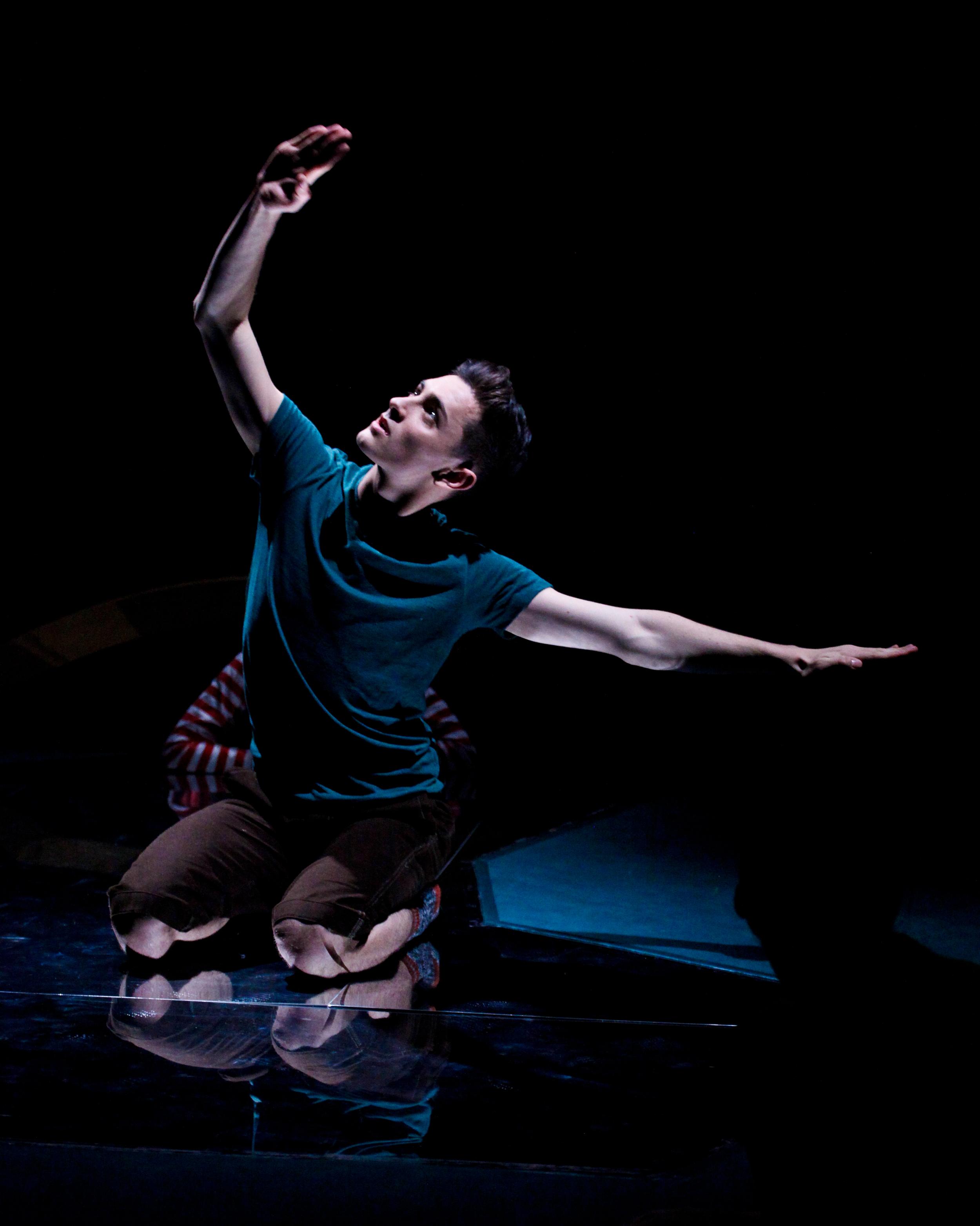 Dancer: Josh Hawkins. Photo: Jordan Anderson
