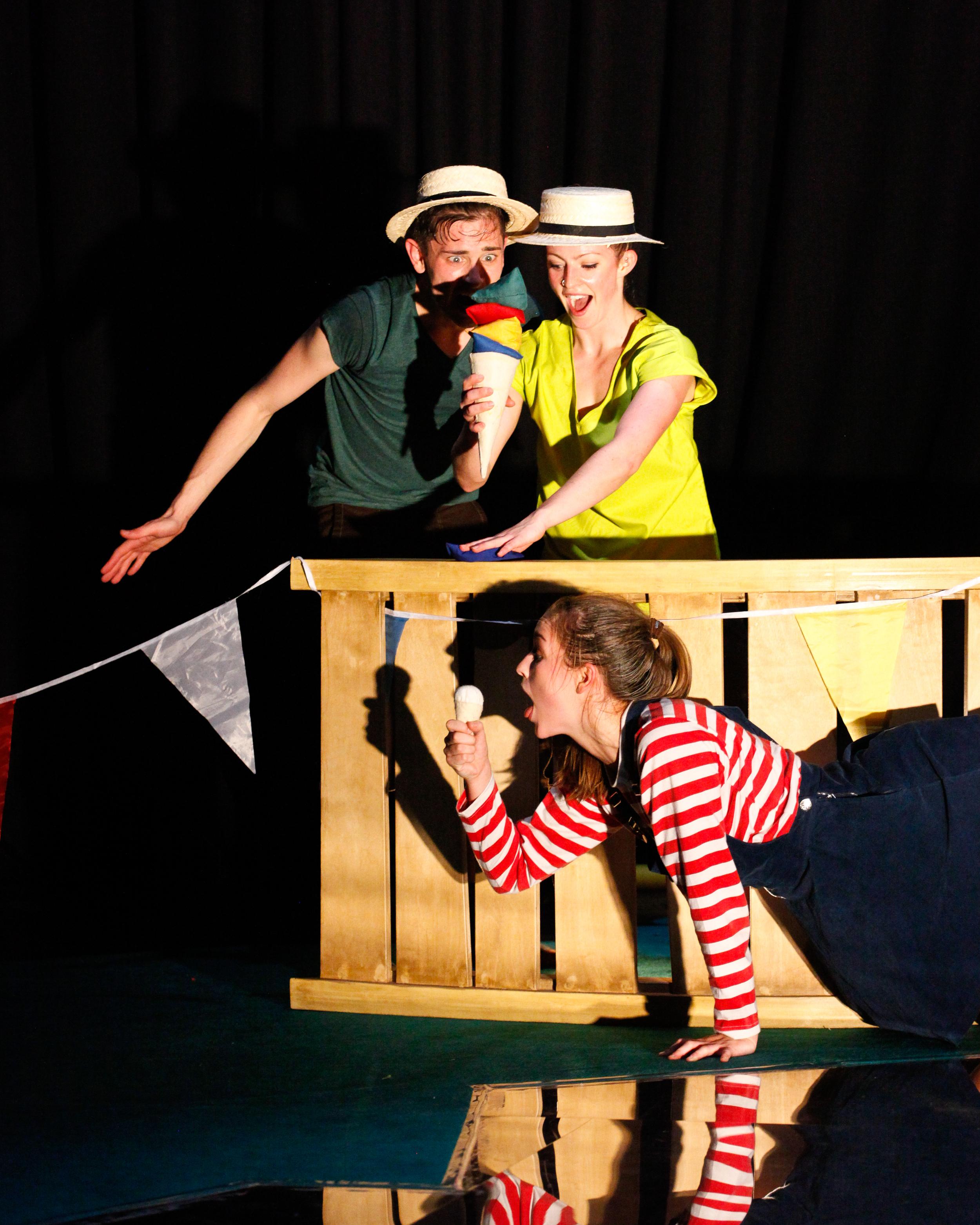 Dancer: Ellen Cobbaert, Josh Hawkins & Laurel Dalley Smith. Photo: Jordan Anderson