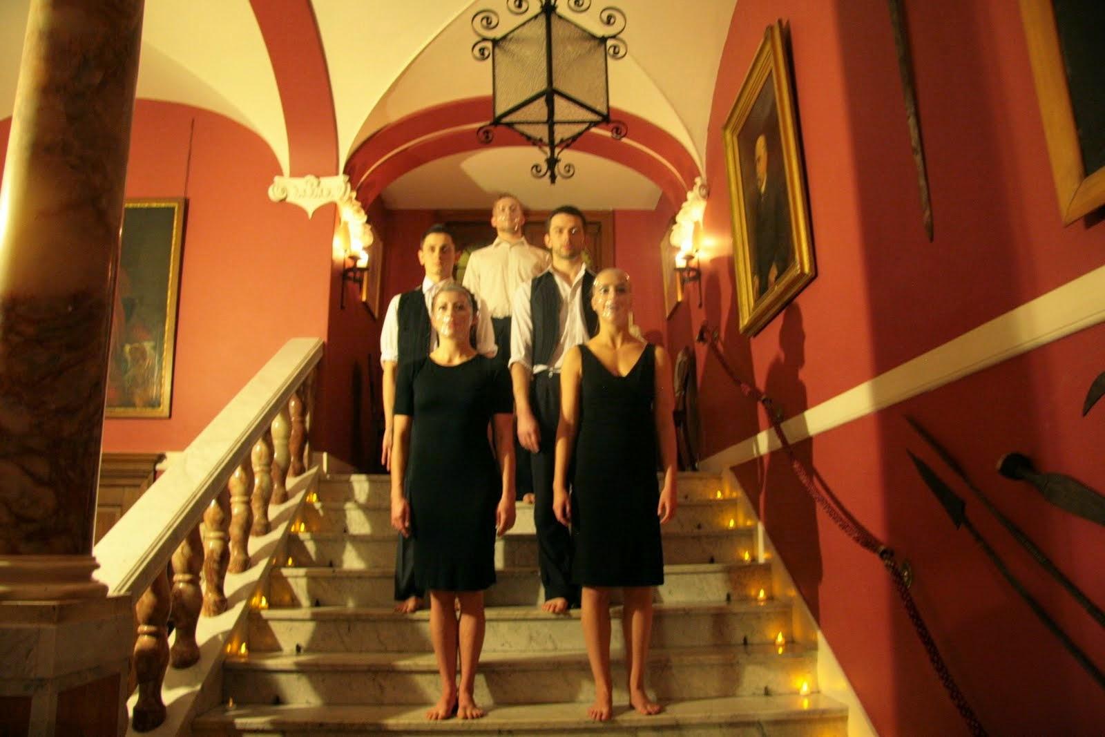 Dancer: Morgan Cloud, Christopher Vann, Josh Hawkins, Ellen Cobbaert &Laurel Dalley Smith Photo: Andrew Bradford