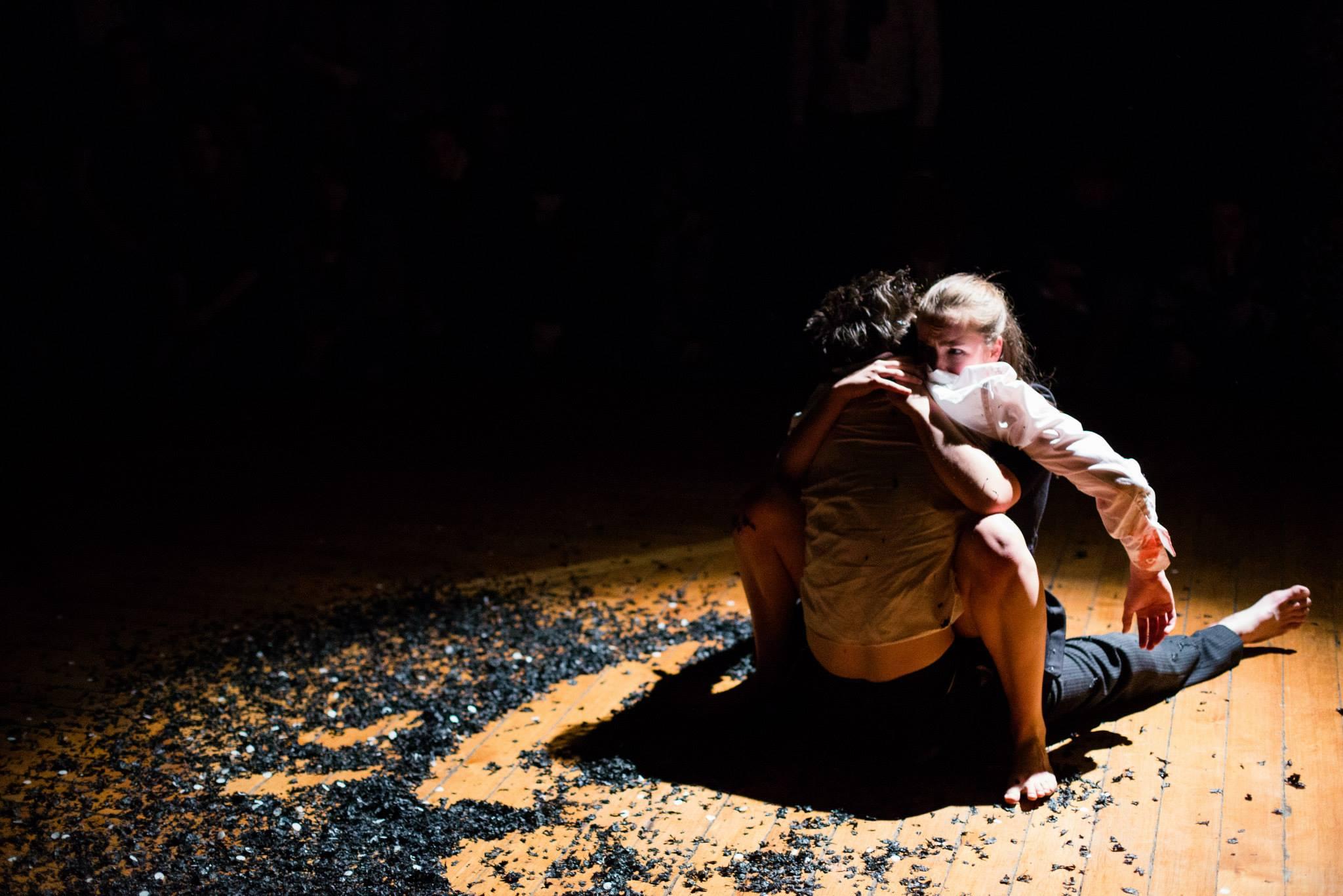 Dancer: Ellen Cobbaert & Joseph Reay-Reid Photo: Sid Scott