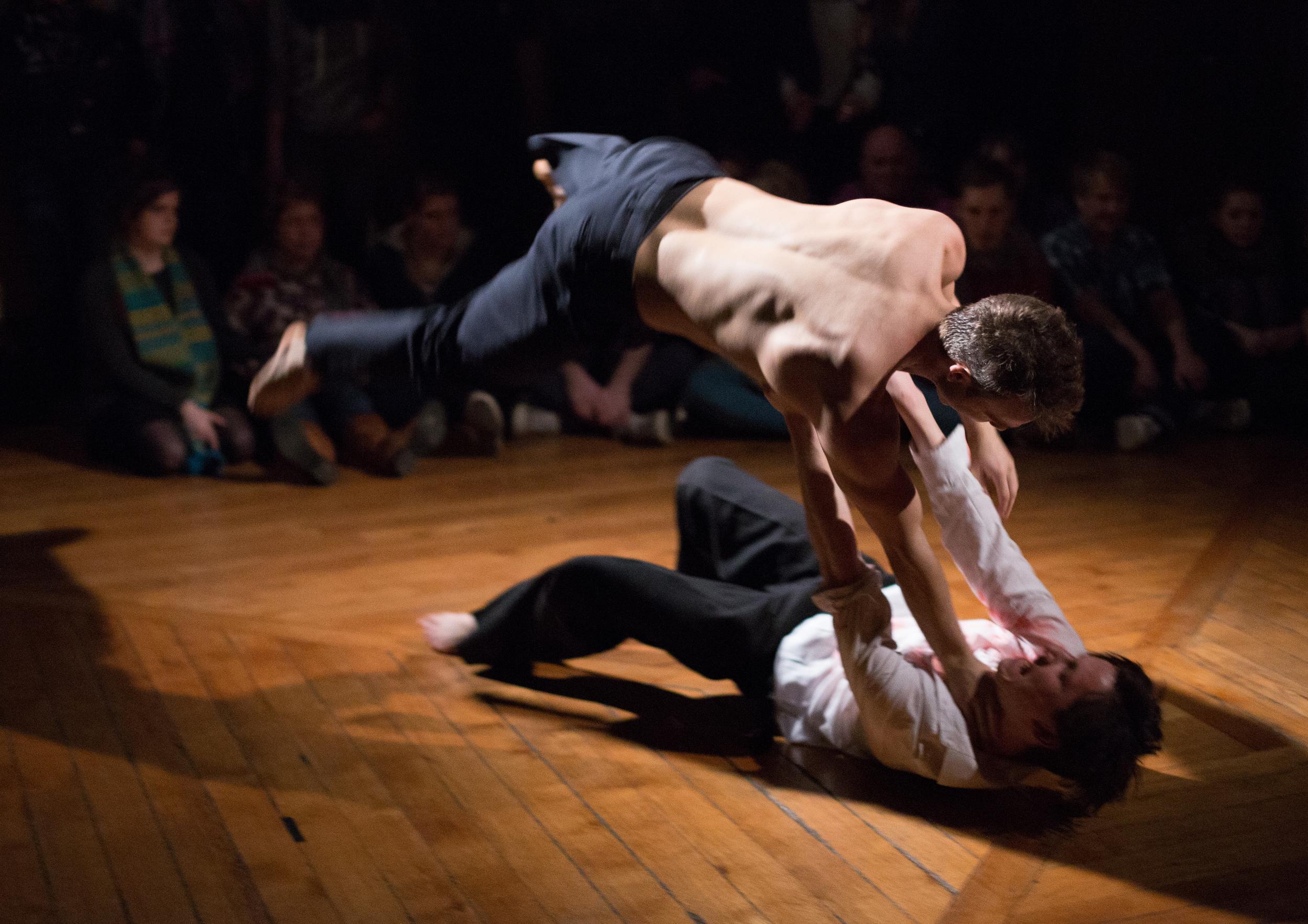 Dancer: Vince Virr &Joseph Reay-Reid Photo: Sid Scott