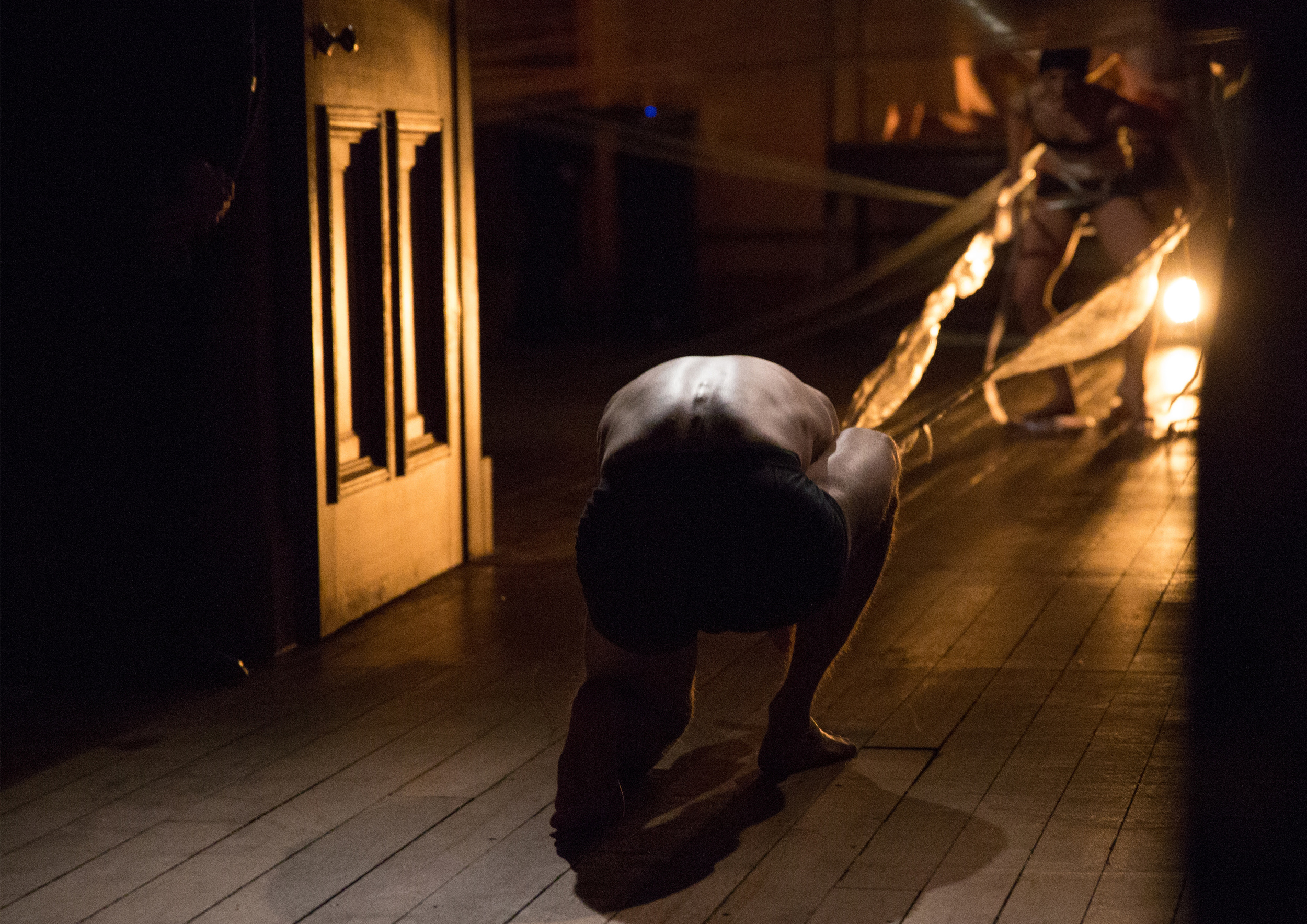 Dancer: Lisa Hood & Joseph Reay-Reid Photo: Sid Scott