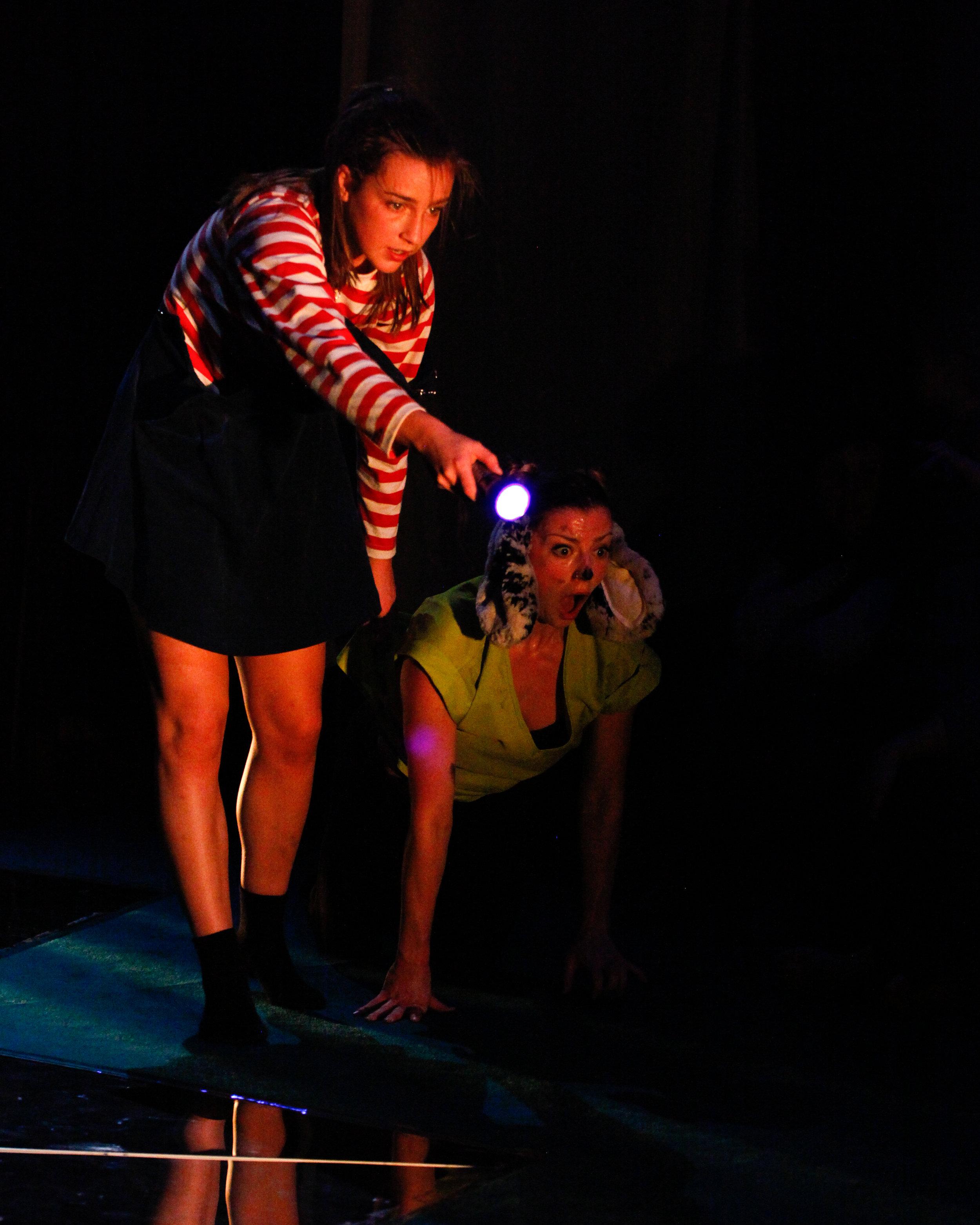 Photo: Jordan Anderson. Dancers: Ellen Cobbaert & Laurel Dalley Smith.