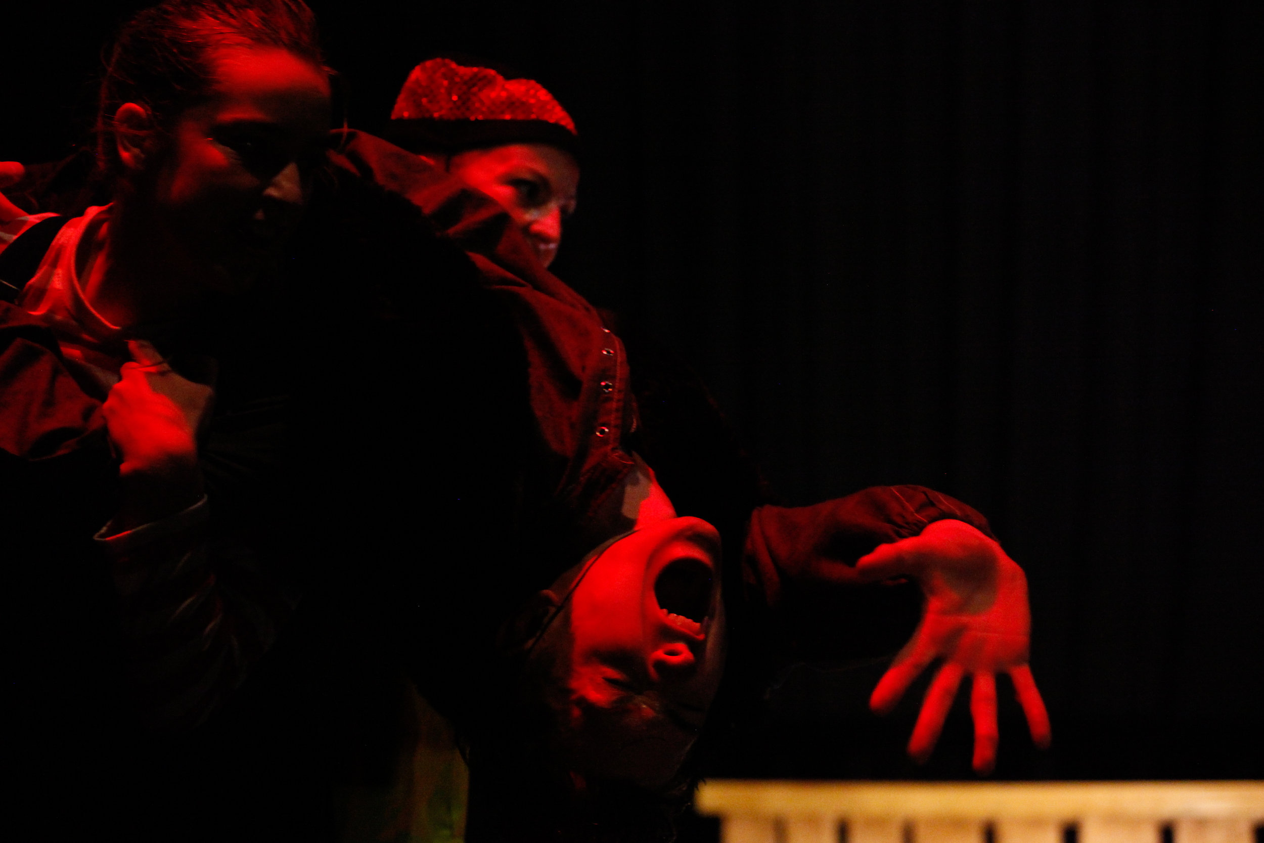 Photo: Jordan Anderson. Dancers: Ellen Cobbaert, Laurel Dalley Smith & Josh Hawkins.