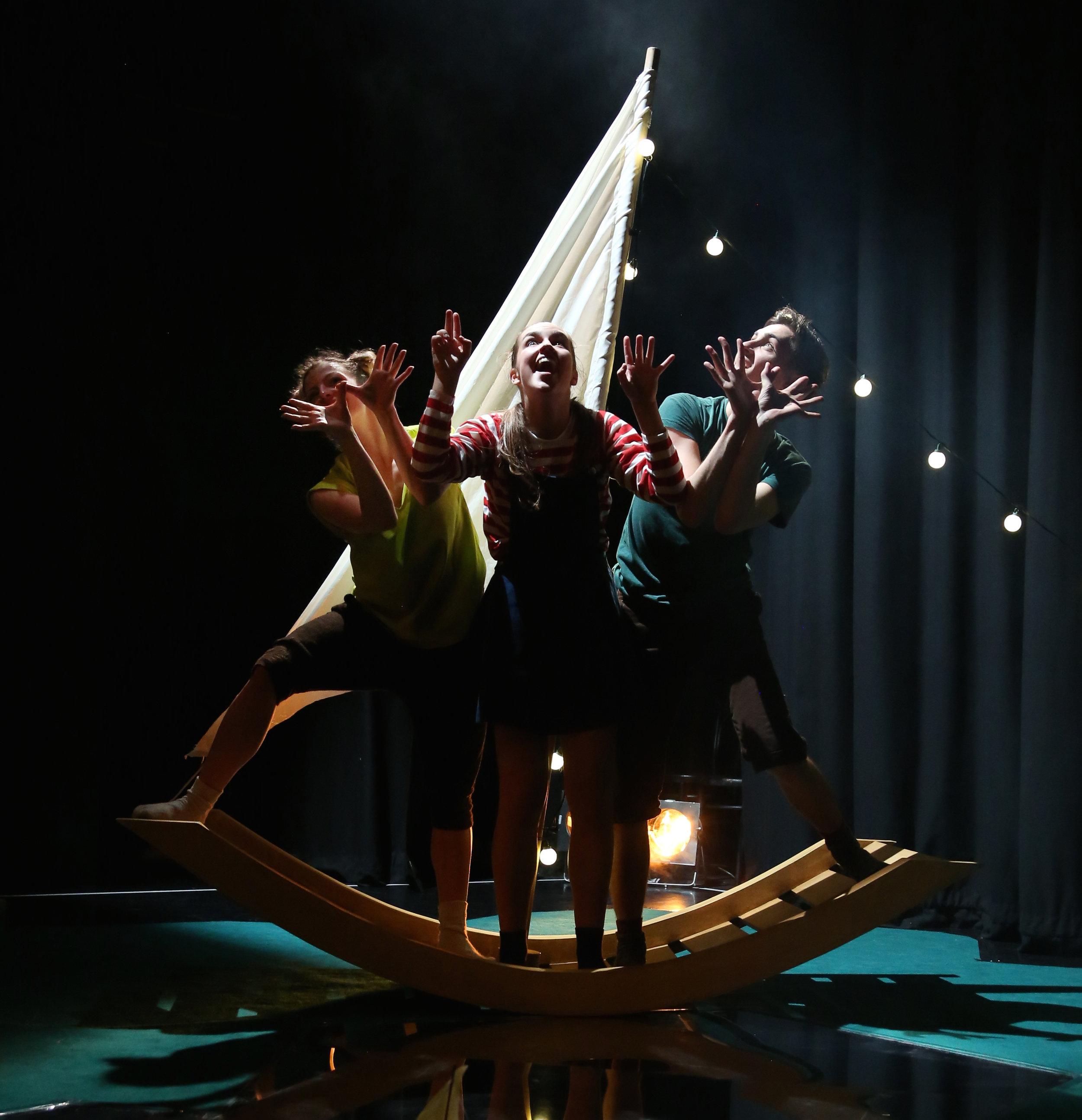 Photo: Josh Hawkins. Dancers: Ellen Cobbaert, Laurel Dalley Smith & Josh Hawkins.