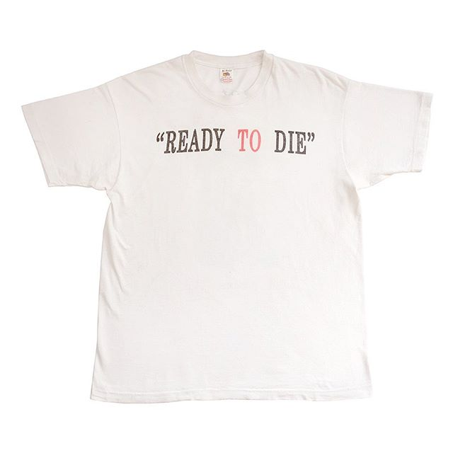 25 Years old today #ReadyToDie #RapTees