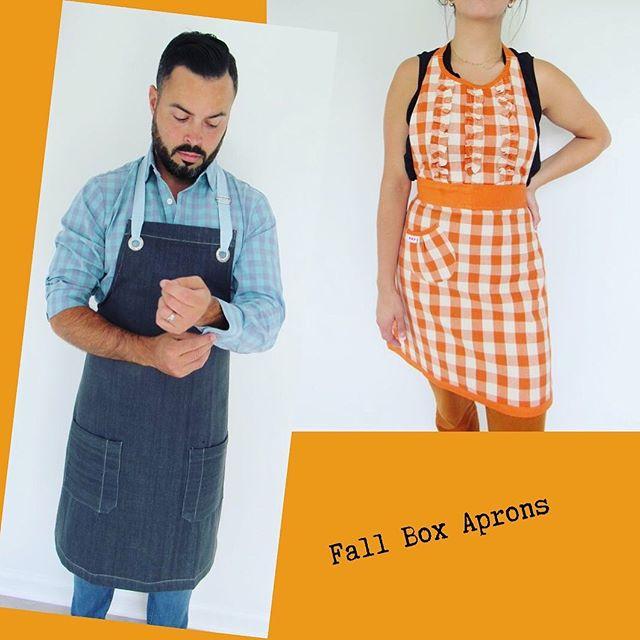 Which style do you like best? 🍁 . . . . #inthekitchen #home #homeaccessories #kitchenfashion #thatssodarling #denim #buffalocheck #pumpkinspice #homegoods #tjmaxxstyle