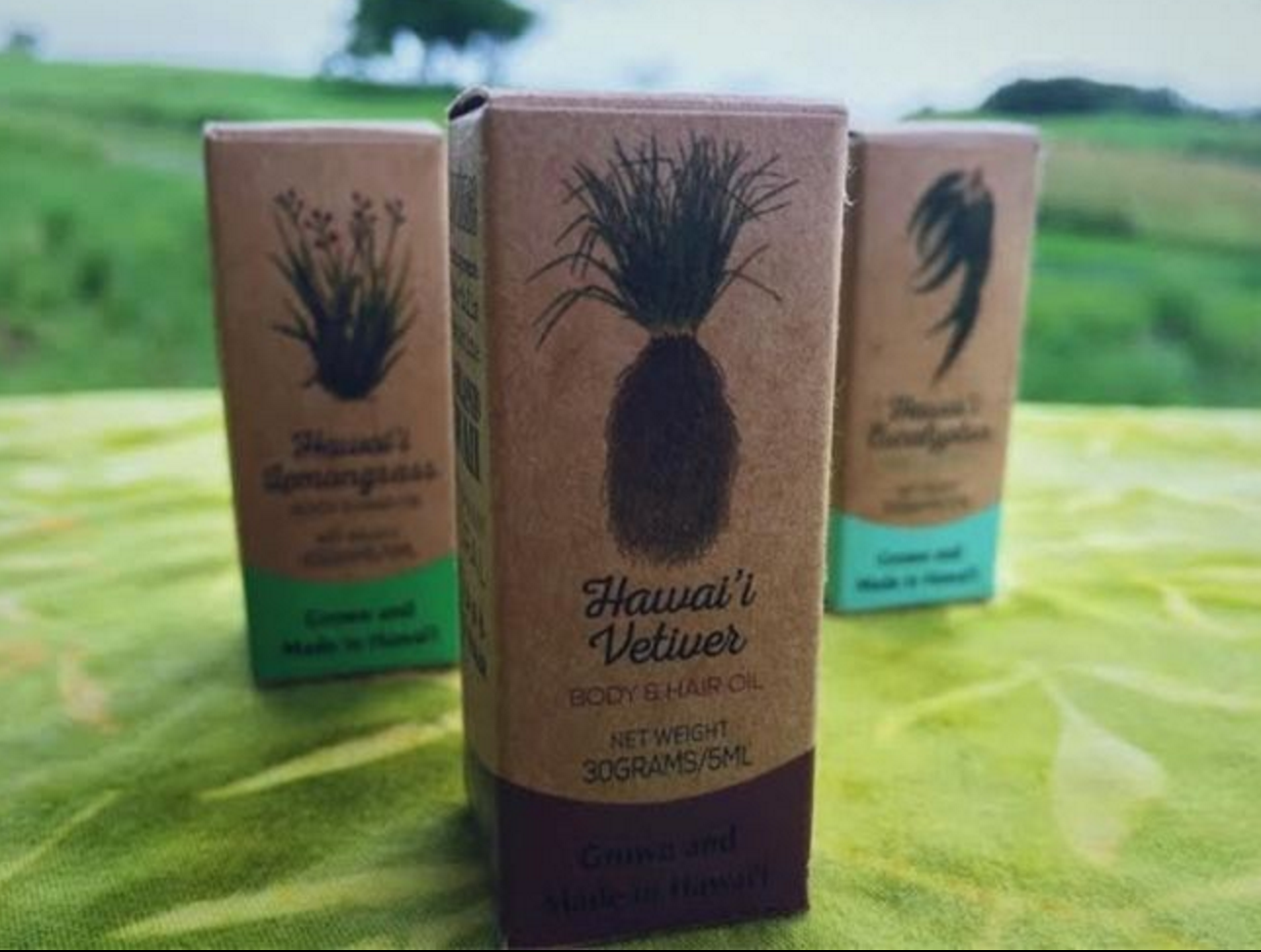 """Vetiver Therapeutic Grade Oil By Vetiver Farms Hawaii 