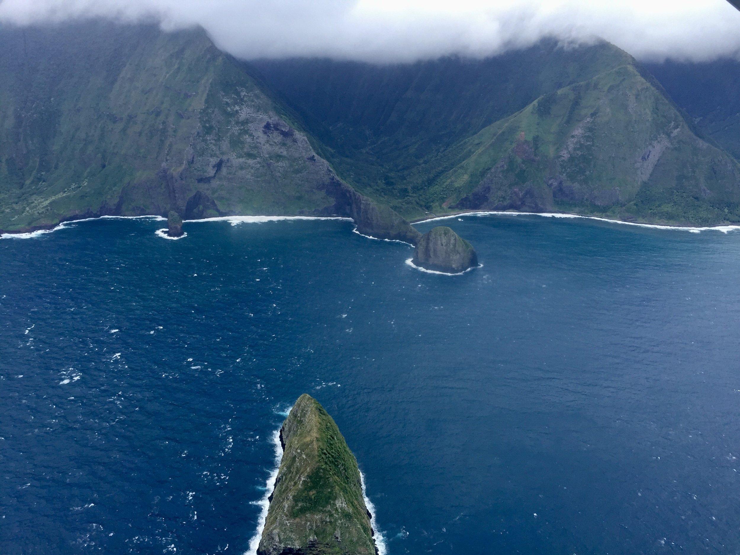 maui-web-design-pueo-creations-molokai-coastline