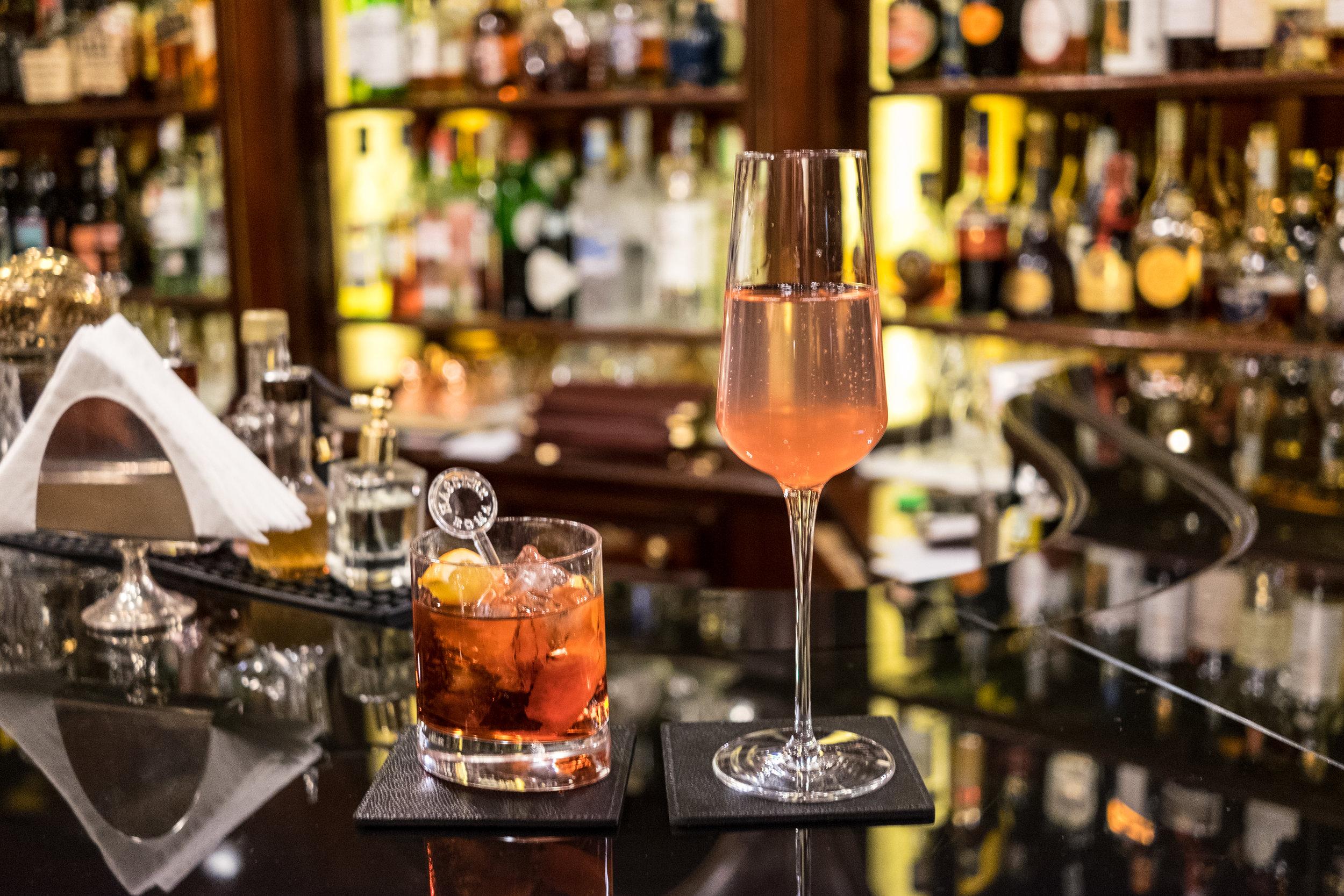 Drinks at Hassler Bar