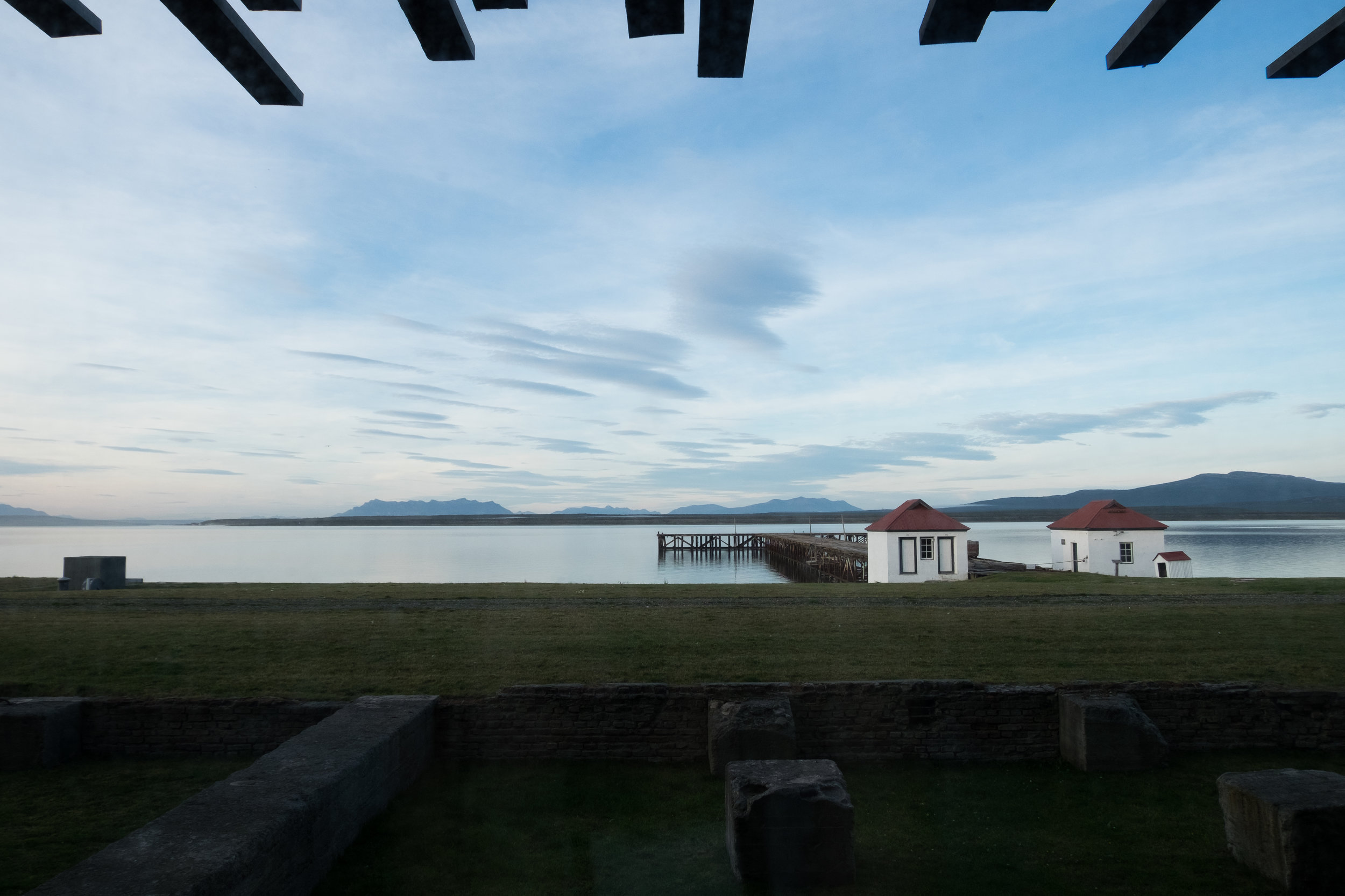 Panoramic views from guest rooms