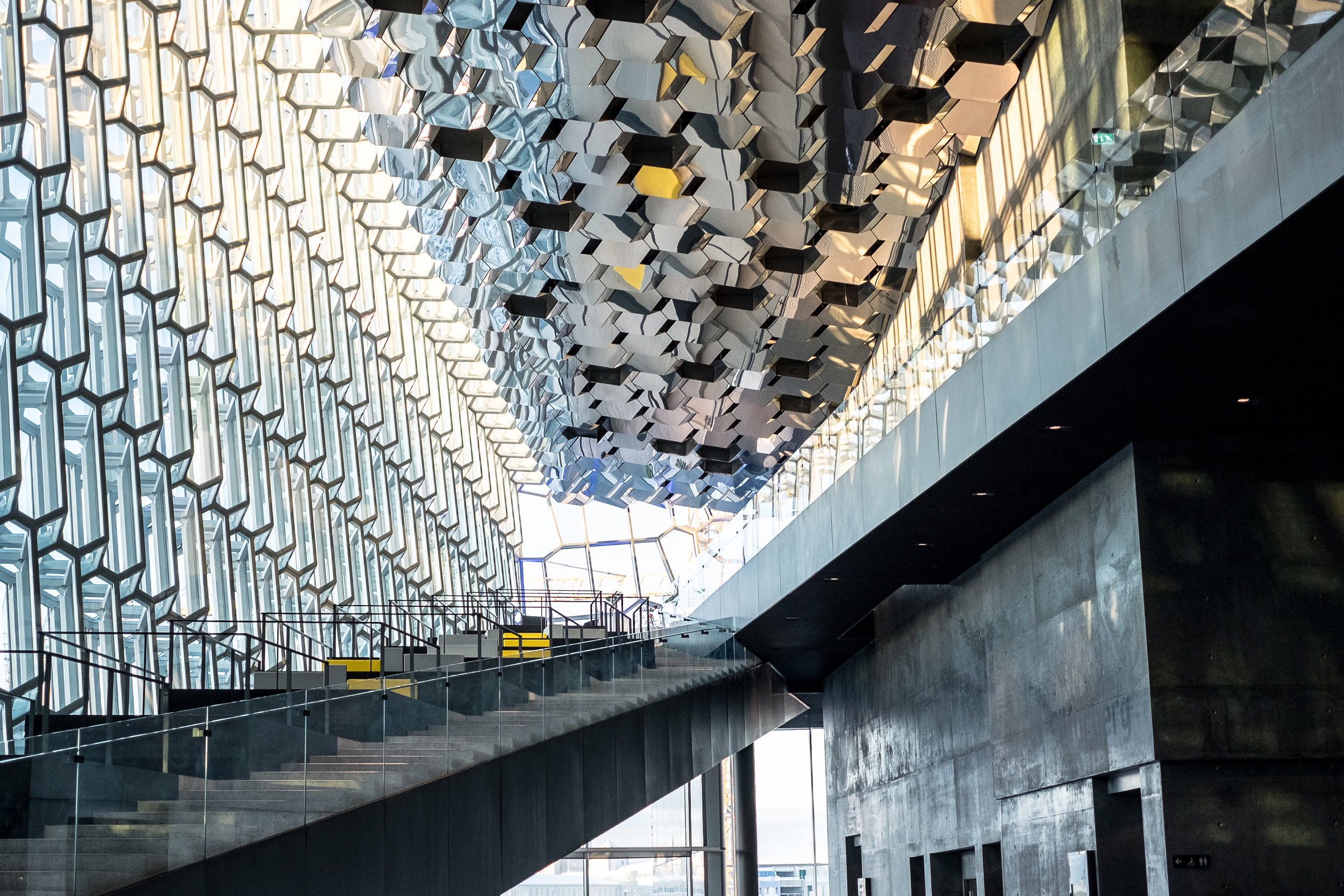Inside Harpa Concert Hall
