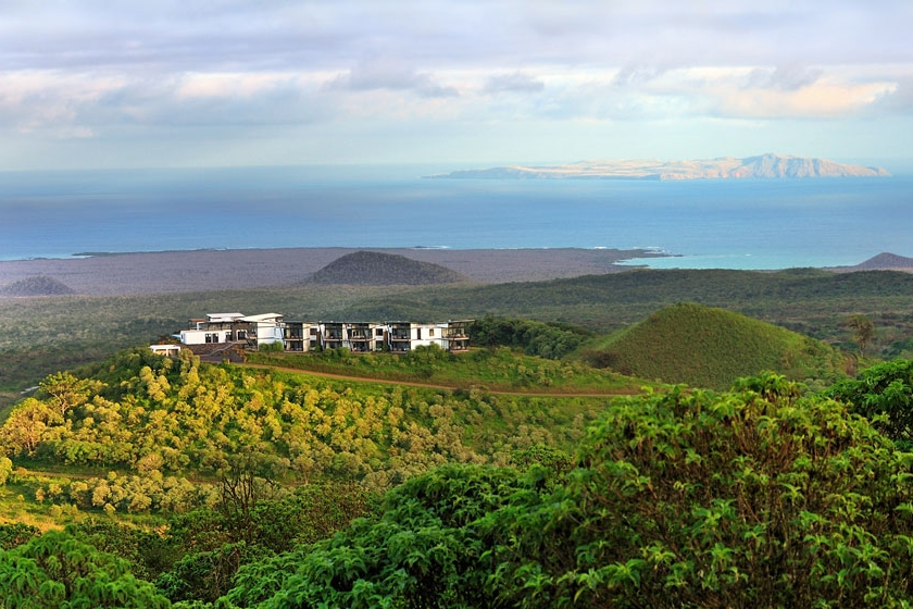 Pikaia Lodge in the Galapagos
