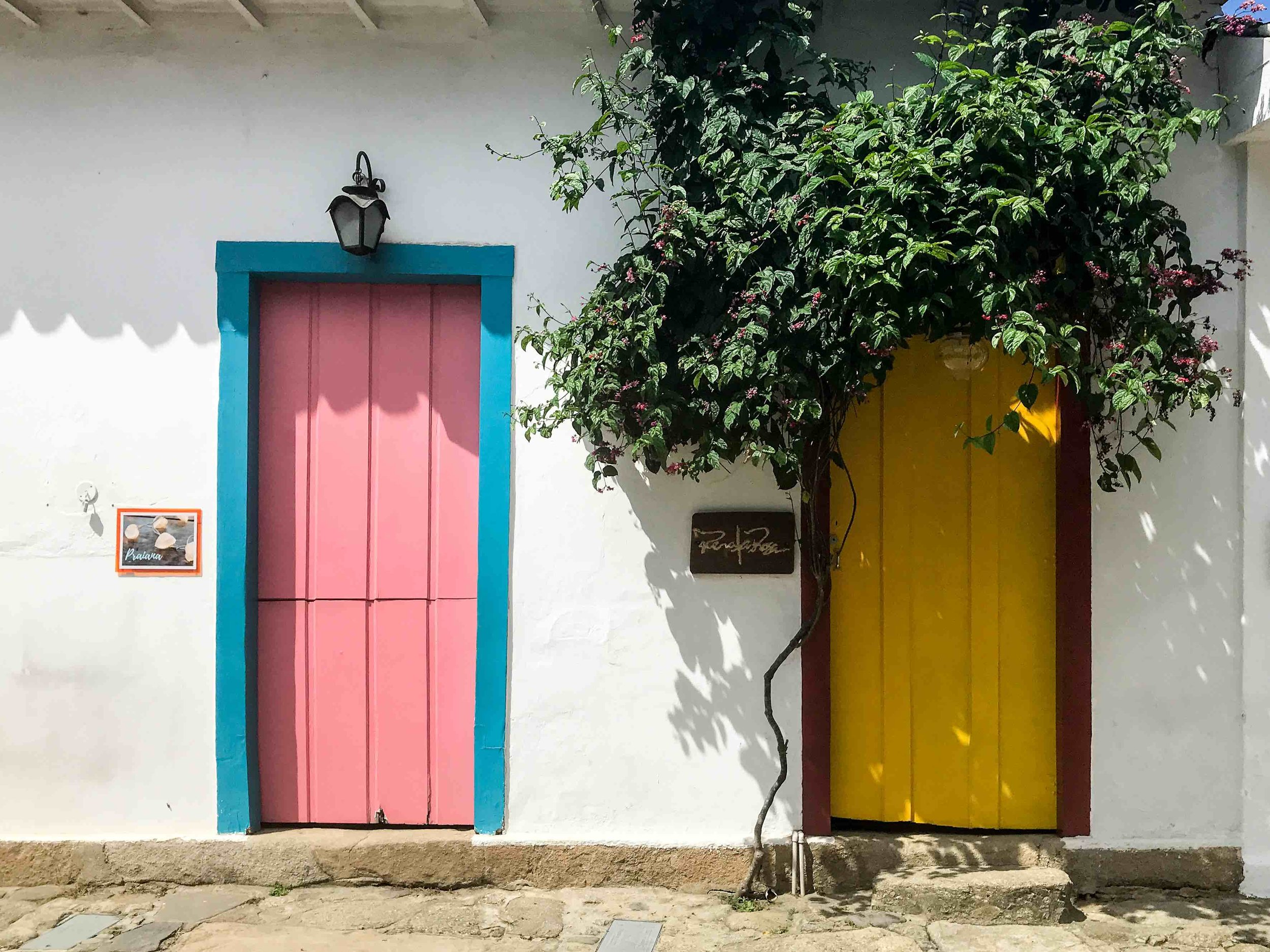 The vibrant streets of Paraty