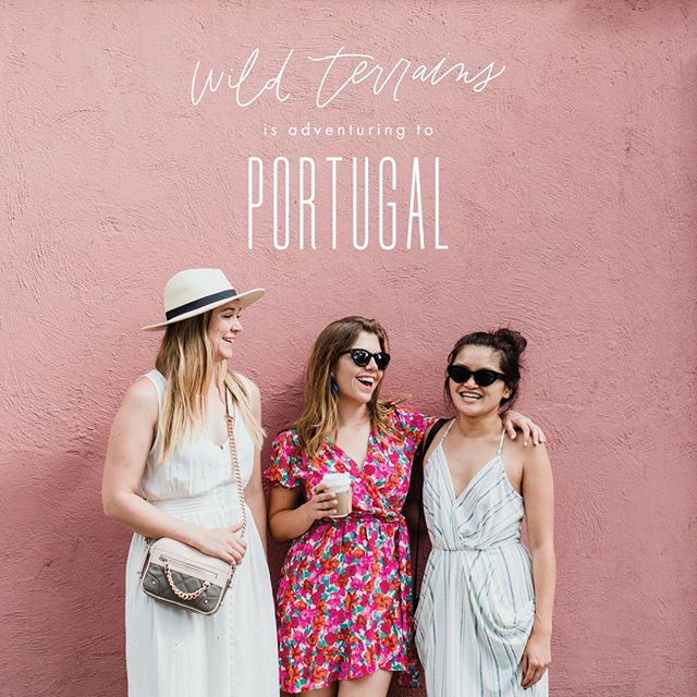 "PACK YOUR BAGS! We're headed to PORTUGAL! ⁣Like all of our travel experiences, this one is woman-fueled 💪🏽, which means every aspect of our trip involves really cool women doing really cool things. We've curated an incredible itinerary filled with Portuguese culture, food, art, design, history, and plenty of ""stop-and-smell-the-olives"" time. ⁣ ⁣ ⁣Here's what we'll be up to:⁣ 😴catching up on our beauty sleep at design hotels @thelisboans @duasportastownhouse & @sao_lourenco_do_barrocal⁣ 💕intimate conversations with local women entrepreneurs, makers, artists, & designers⁣ 🍽delicious culinary experiences curated by the women behind @prado_restaurante @sao_lourenco_do_barrocal & @rosaetaltownhouse ⁣ 🎨a street art tour and graffiti workshop with @vanessateodoro⁣ 🍸a foraging and mixology expedition led by @bartocadaraposa⁣ 🥘a visit to a Portuguese market and cooking class with @lisbon.cooking.academy⁣ 🍇harvesting grapes and wine tasting in Douro Valley with @milesawaydouroandcoa⁣⁣ 🚂a fun train ride through the Portuguese countryside⁣ 🍔local food crawl with @theportugueseaffair⁣ 🏖pool day underneath the lemon trees in Alentejo⁣ 🏢architecture and design tour of Porto ⁣ ⁣ ⁣ Who's coming with us?!⁣ ------------------------------------⁣ @wildterrains is a boutique travel company built for creative women. We design group travel experiences that connect like-minded women around the world and support local, women-owned businesses in our destinations.⁣ ------------------------------------⁣ #wildterrains #itsawildworld #wildwoman #portugal #lisbon #porto #visitportugal #passionpassport #darlingescapes #wearetravelgirls #mytinyatlas #sheisnotlost #ladiesgoneglobal #flashesofdelight #femmetravel #traveldeeper #girlswhotravel #thatsdarling #thetravelwomen #finditliveit #girlslovetravel #roamtheplanet #girlsborntotravel"