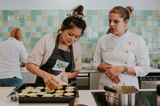 Today we're getting our hands dirty with our fave female chef in Lisbon 😍 and we're planning to eat all the pasteis de nata.⁠ ------------------------------------⁠ @wildterrains is a women-fueled travel company. We design awesome group trips that connect like-minded women around the world and we partner with local, women-owned businesses wherever we go.⁠ ------------------------------------⁠ 📷: @laurenlouisecollective⁠ #foodtourlisbon #foodtraveller #newfoods #bestrestaurant #foodtour #instafood #goodeats #yummy #willtravelforfood #gourmet #thebestchef ⁠ #womeninspiringwomen #womenempoweringwomen #girlbosstribe #sheconquers #girlsbuildingempires #empowerher #bossbabemovement #badasswomen #helpingwomen #fempowerment #supportwomen