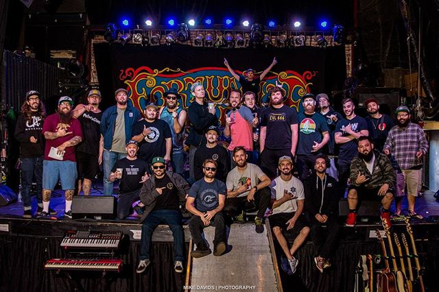 #Wickedawesomespringtour Was nothing but amazing. It was a blast to spend the last 2 months with this talented group of people. Big up's and respect ✊🏽 With out this talented team it wouldn't be possible. 📸 @mikedenim