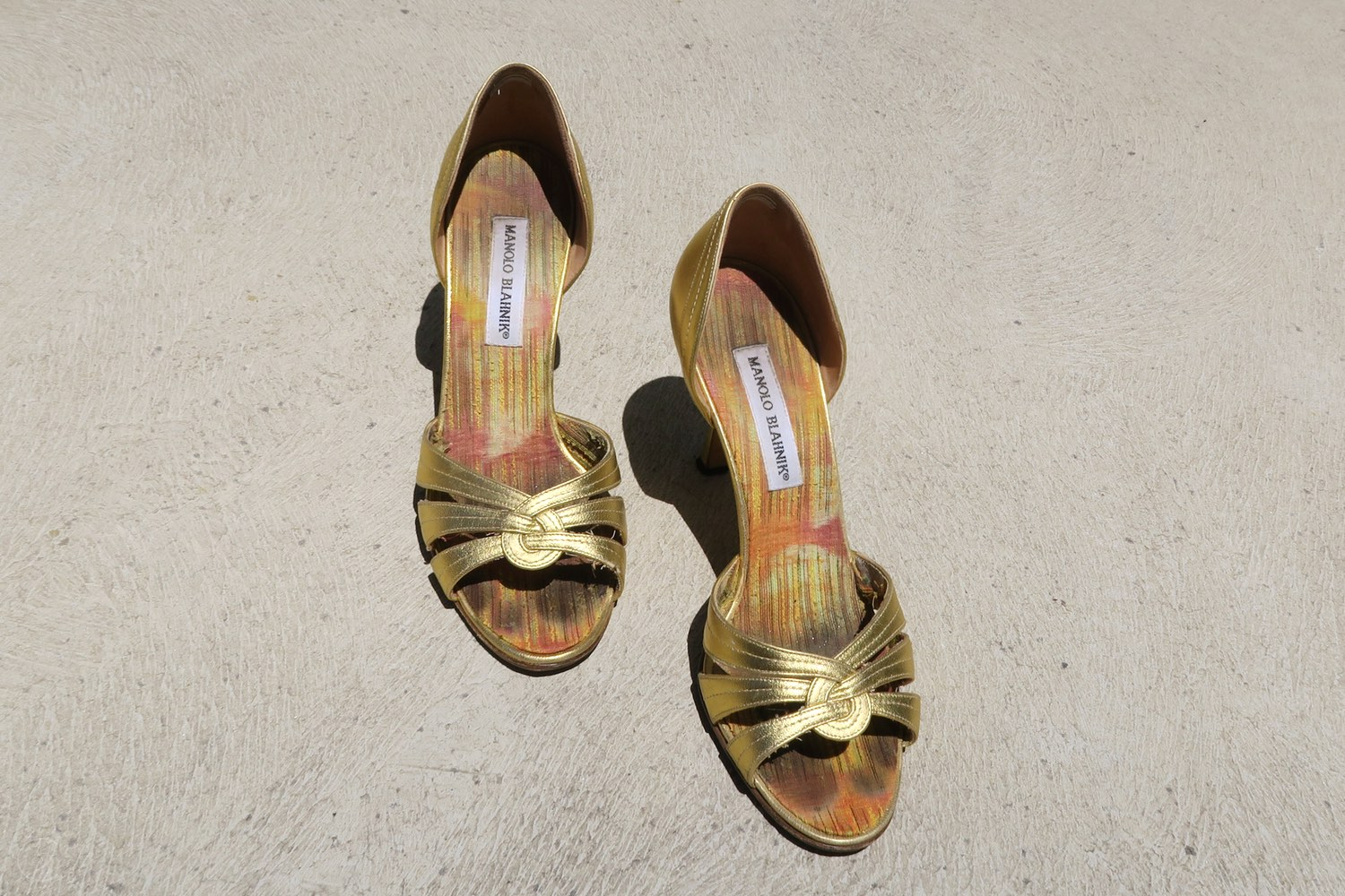 gold-manolo-blahnik-character-32-shoes