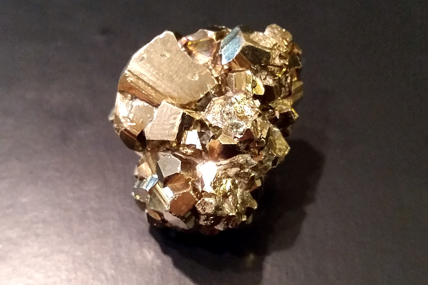 My Pyrite On My Desk