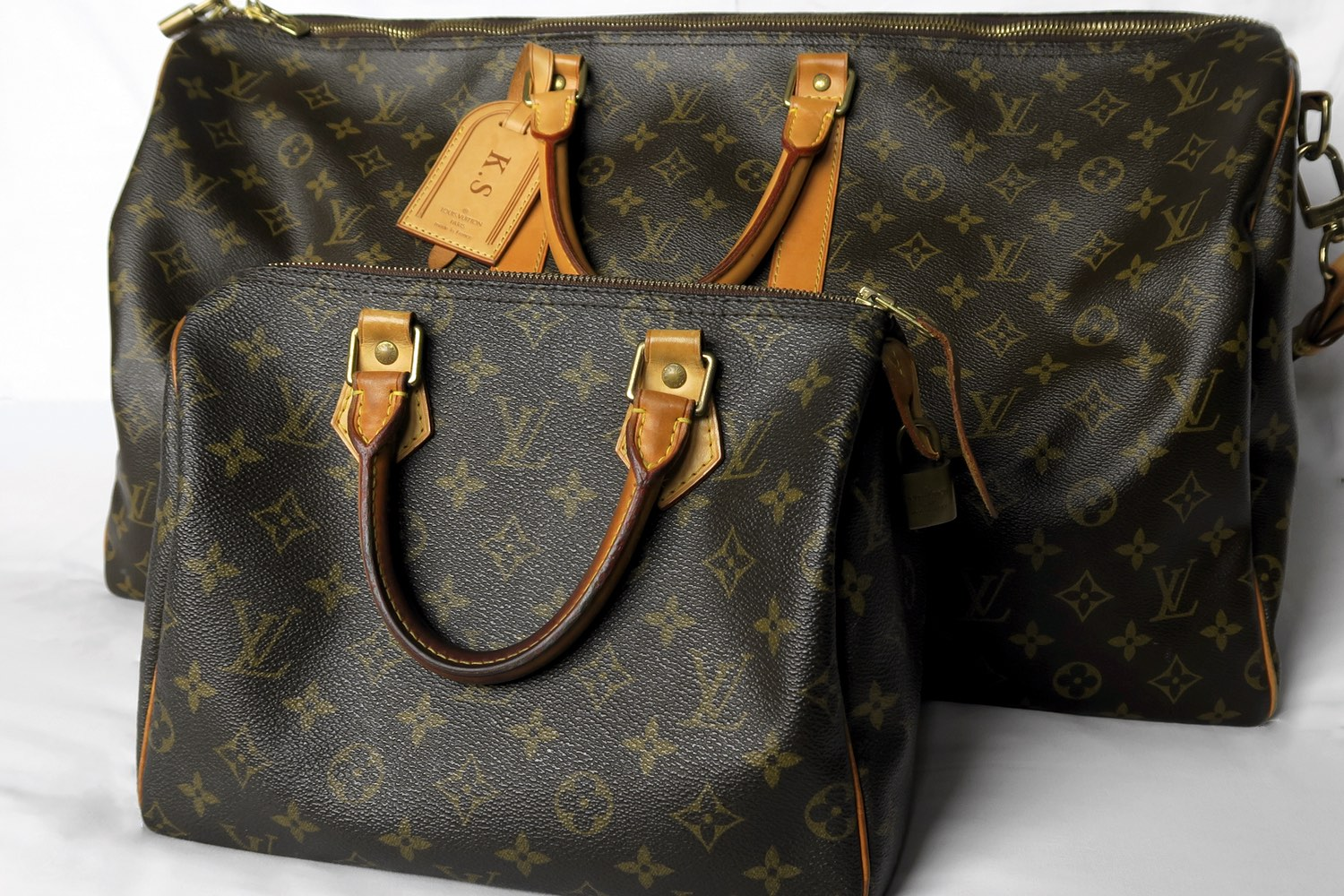 My Louis Vuitton Keepall 55 and Speedy 25 Are The Perfect Twins