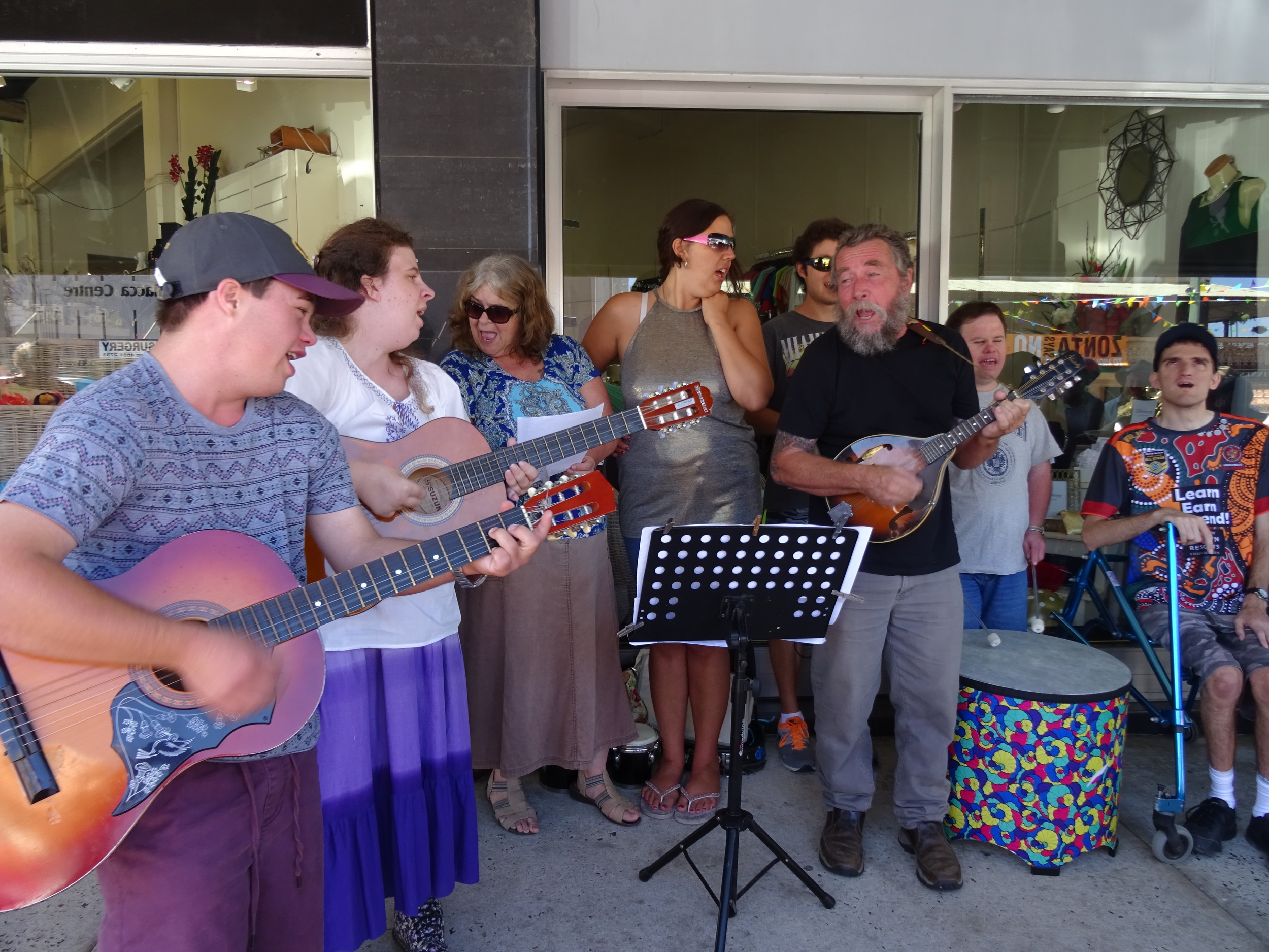GBSS Clients in the Busking Championships