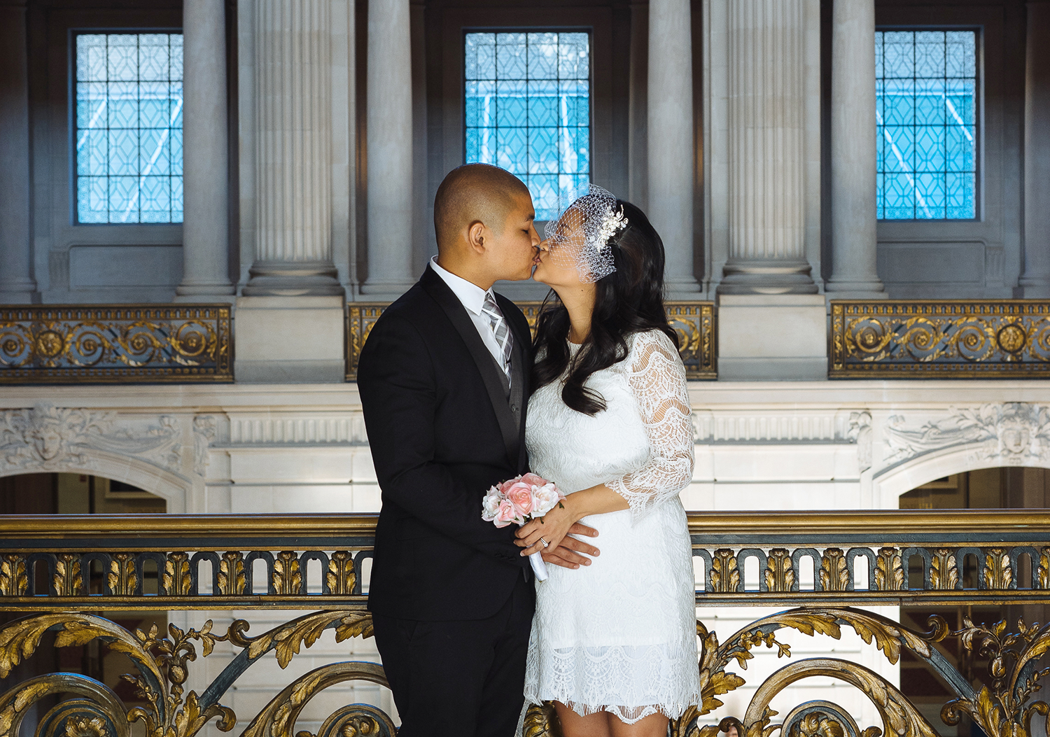 Package II - $8503 hours of wedding photography coveragePortrait session inside City Hall & 1 additional location nearby