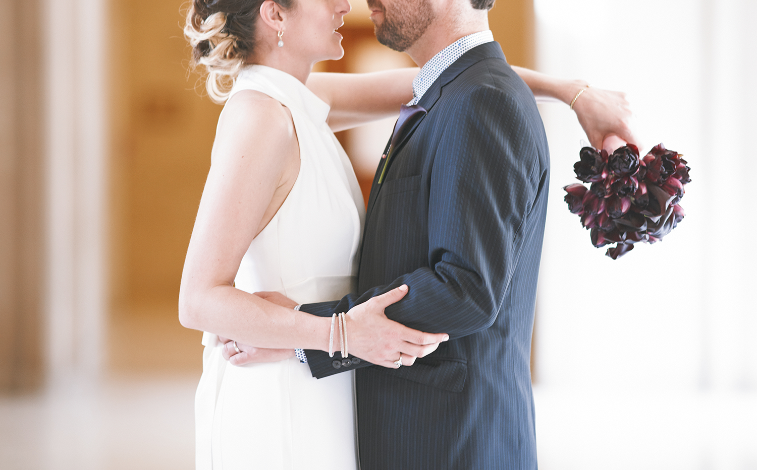 Package III - $50090 minutes of wedding photography coveragePortrait session inside City Hall